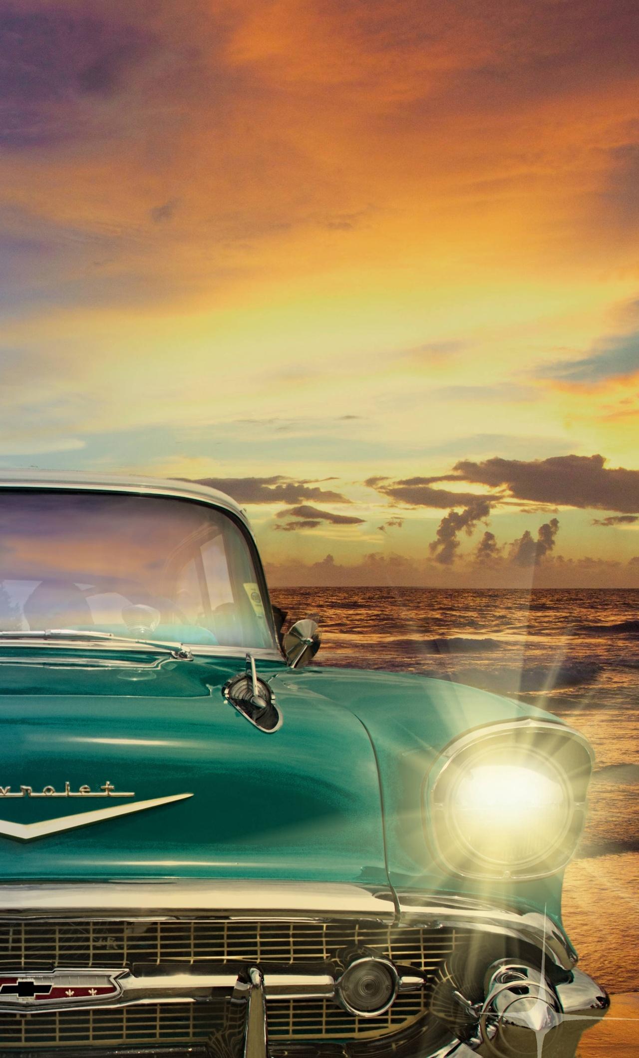 Chevrolet Old Retro Classic Vintage Car Hk