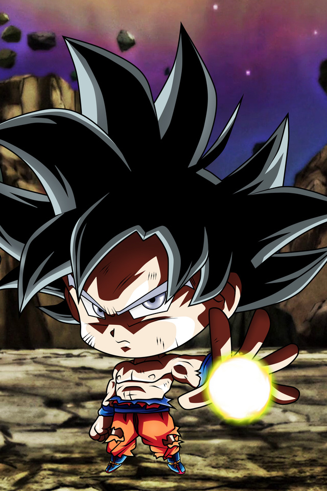 640x960 Chibi Frieza Goku Ultra Instinct Dragon Ball Iphone 4 Iphone 4s Hd 4k Wallpapers Images Backgrounds Photos And Pictures