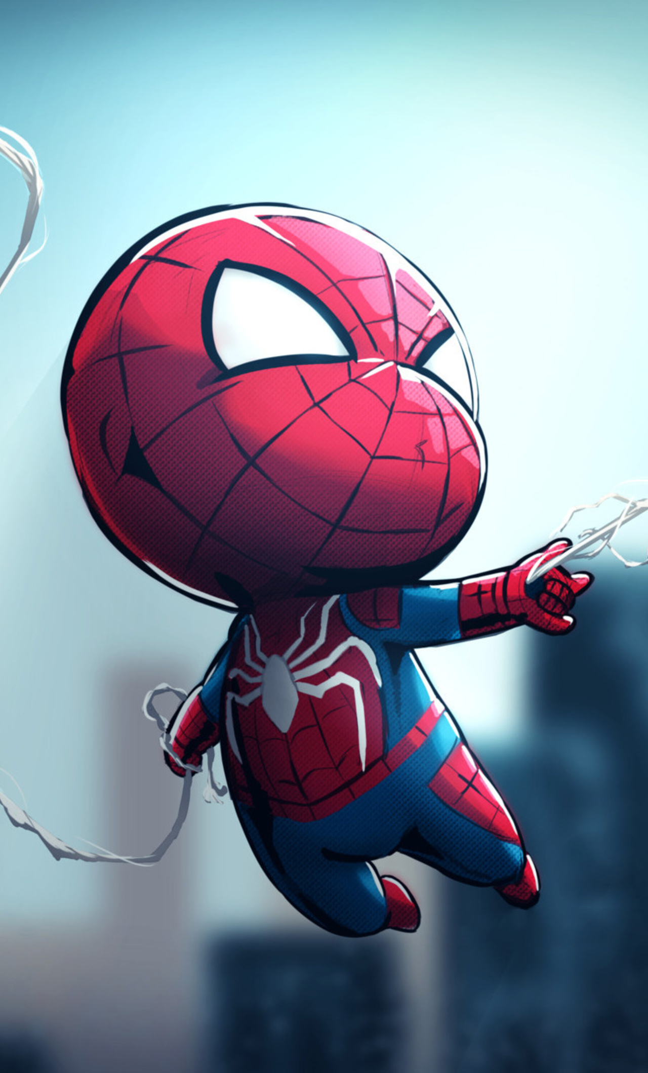 1280x2120 chibi spiderman iphone 6 hd 4k wallpapers - Iphone 6 spiderman wallpaper ...