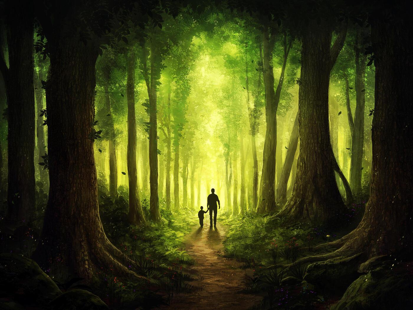 children-walking-with-dad-journey-to-forest-bq.jpg