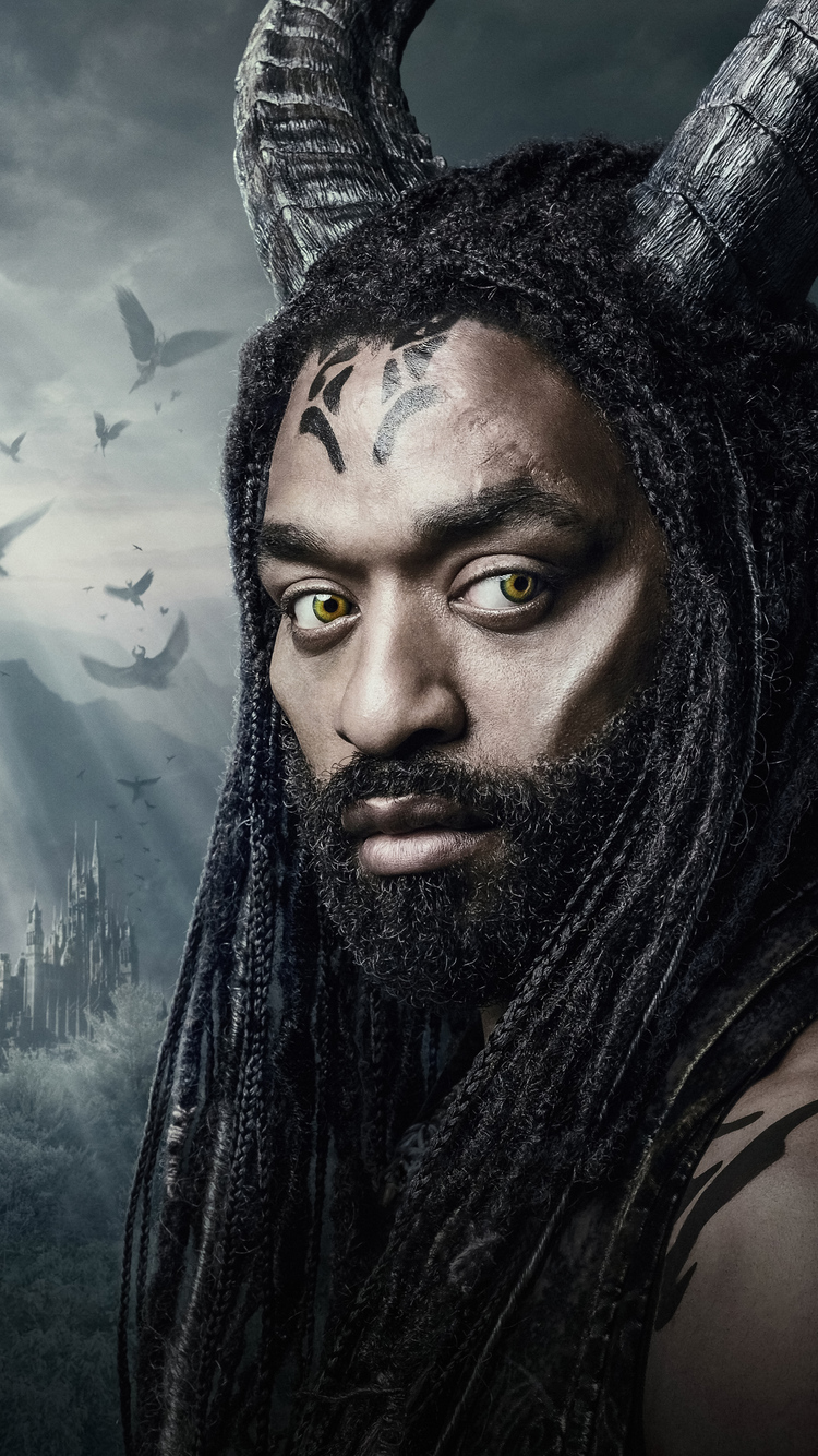 750x1334 Chiwetel Ejiofor In Maleficent Mistress Of Evil