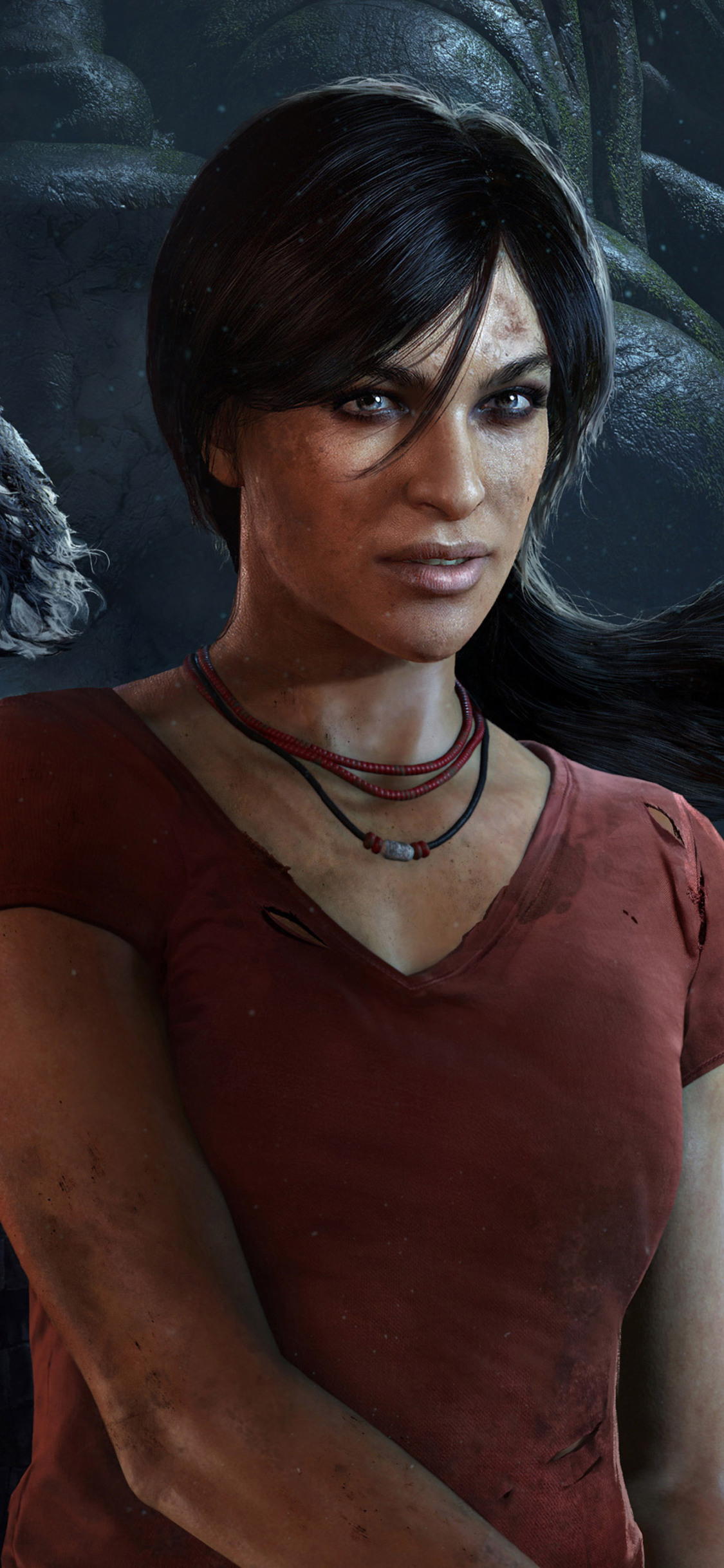 1125x2436 Chloe And Nadine Uncharted The Lost Legacy Iphone Xs
