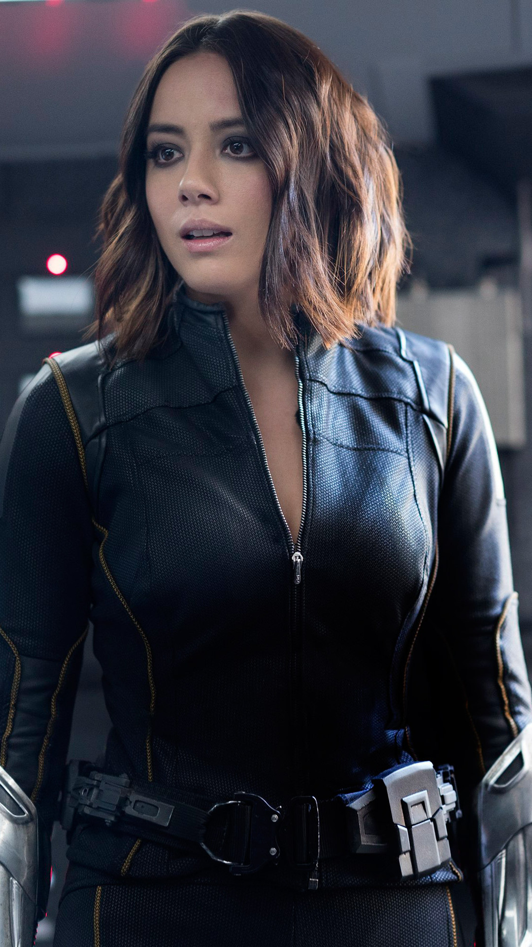 best cheap a28f6 fd7f2 Chloe Bennet Agents Of Shield Season 6   Mount Mercy University