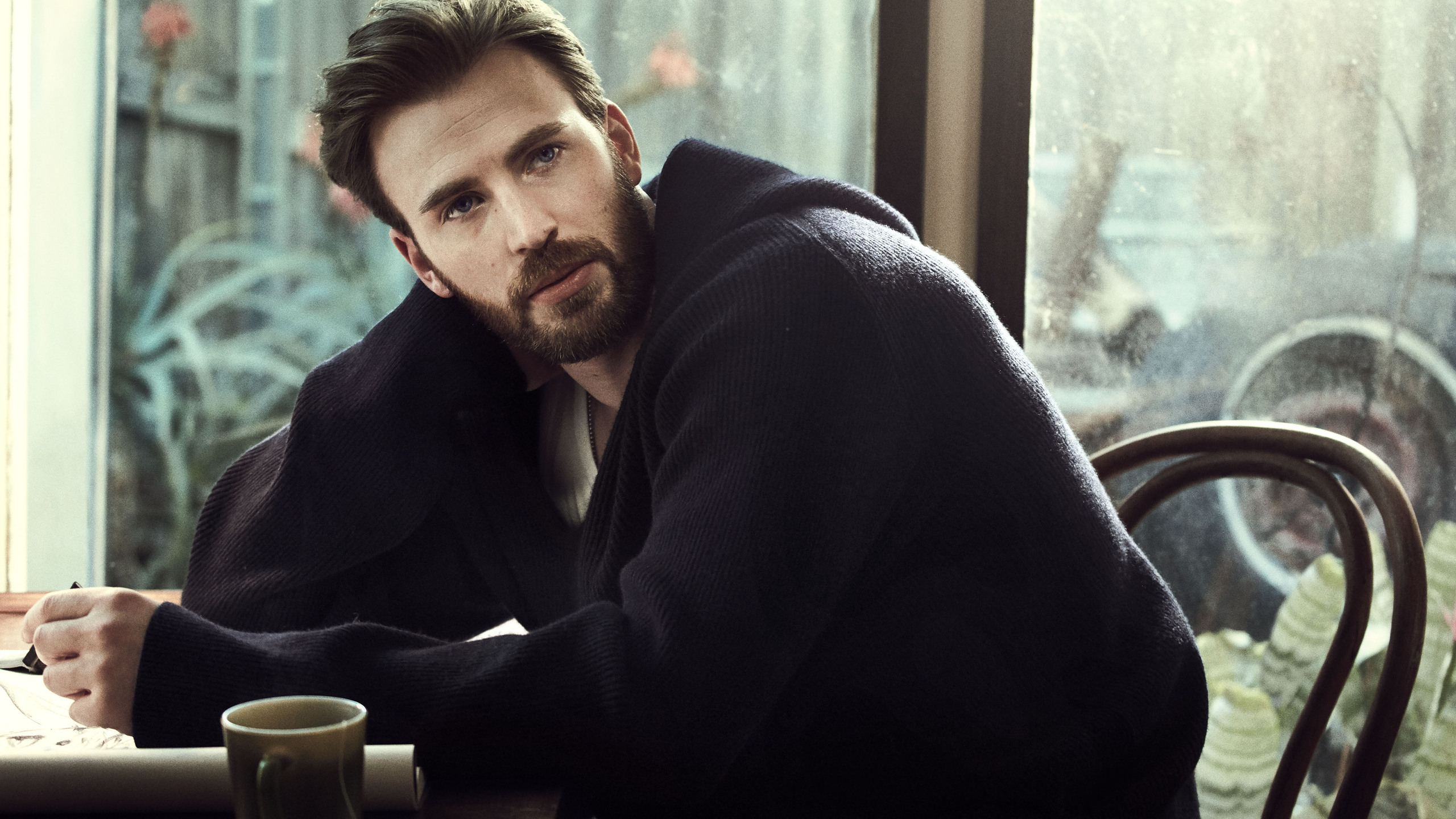 Chris Evans For Esquire Us 2018 P0