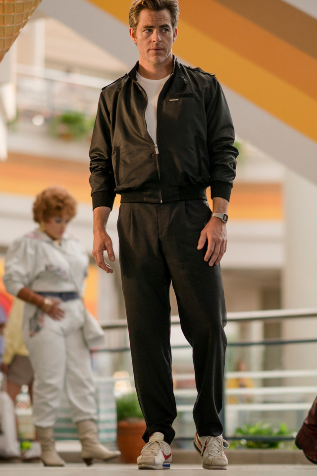 Chris Pine As Steve Trevor Wonder Woman 1984