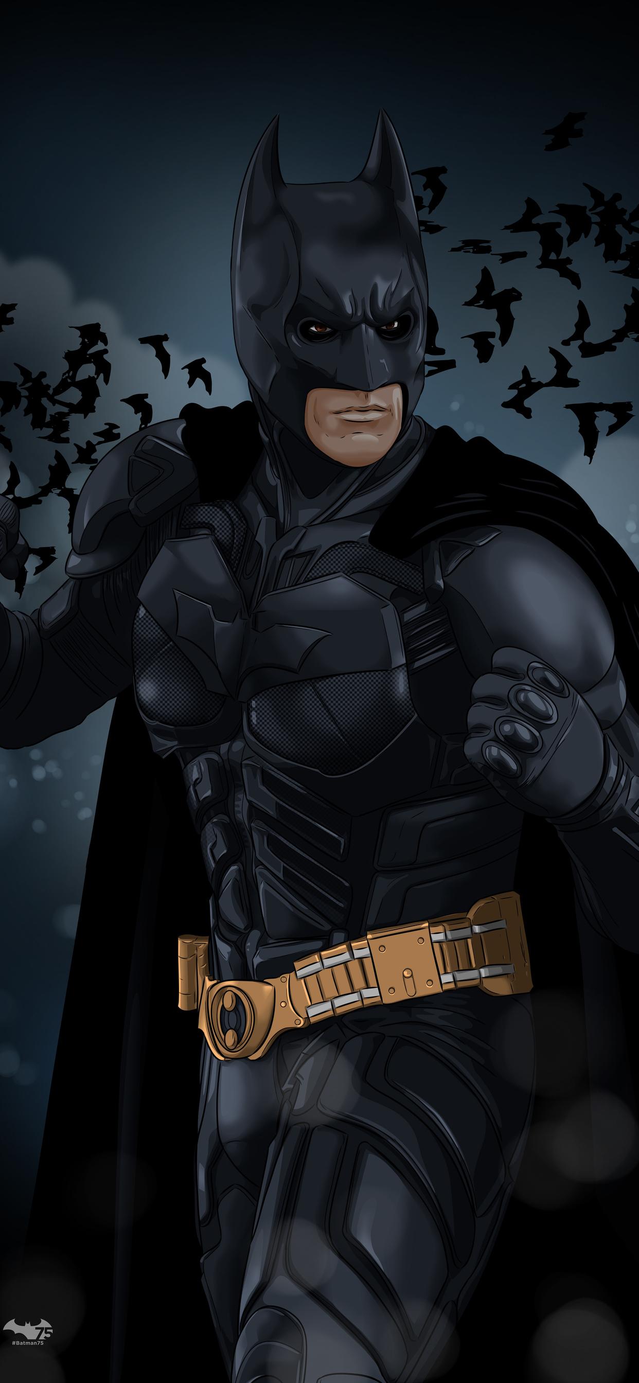 1242x2688 Christian Bale The Dark Knight Iphone Xs Max Hd 4k