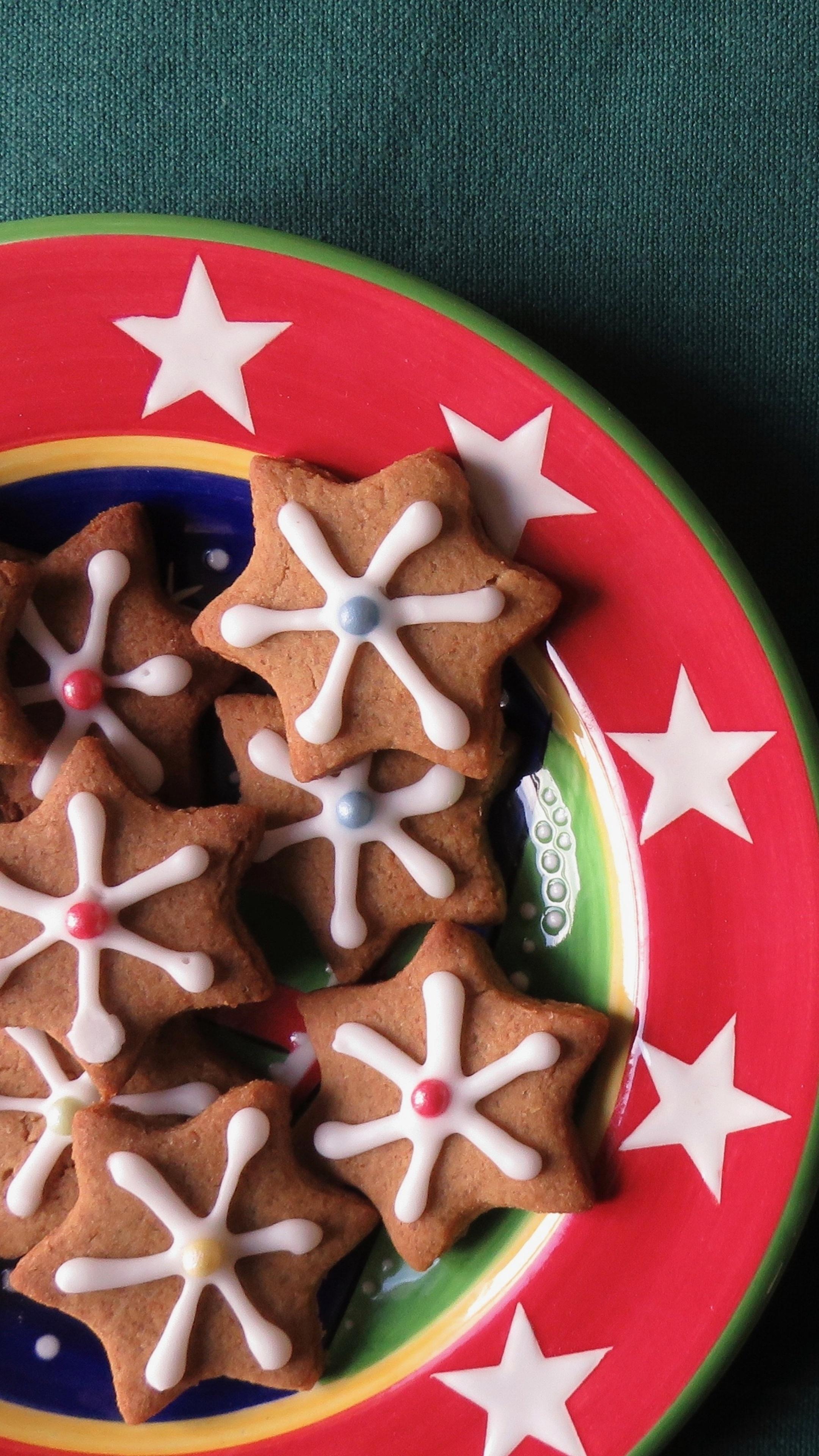 2160x3840 Christmas Cookies Sony Xperia X,XZ,Z5 Premium HD ...