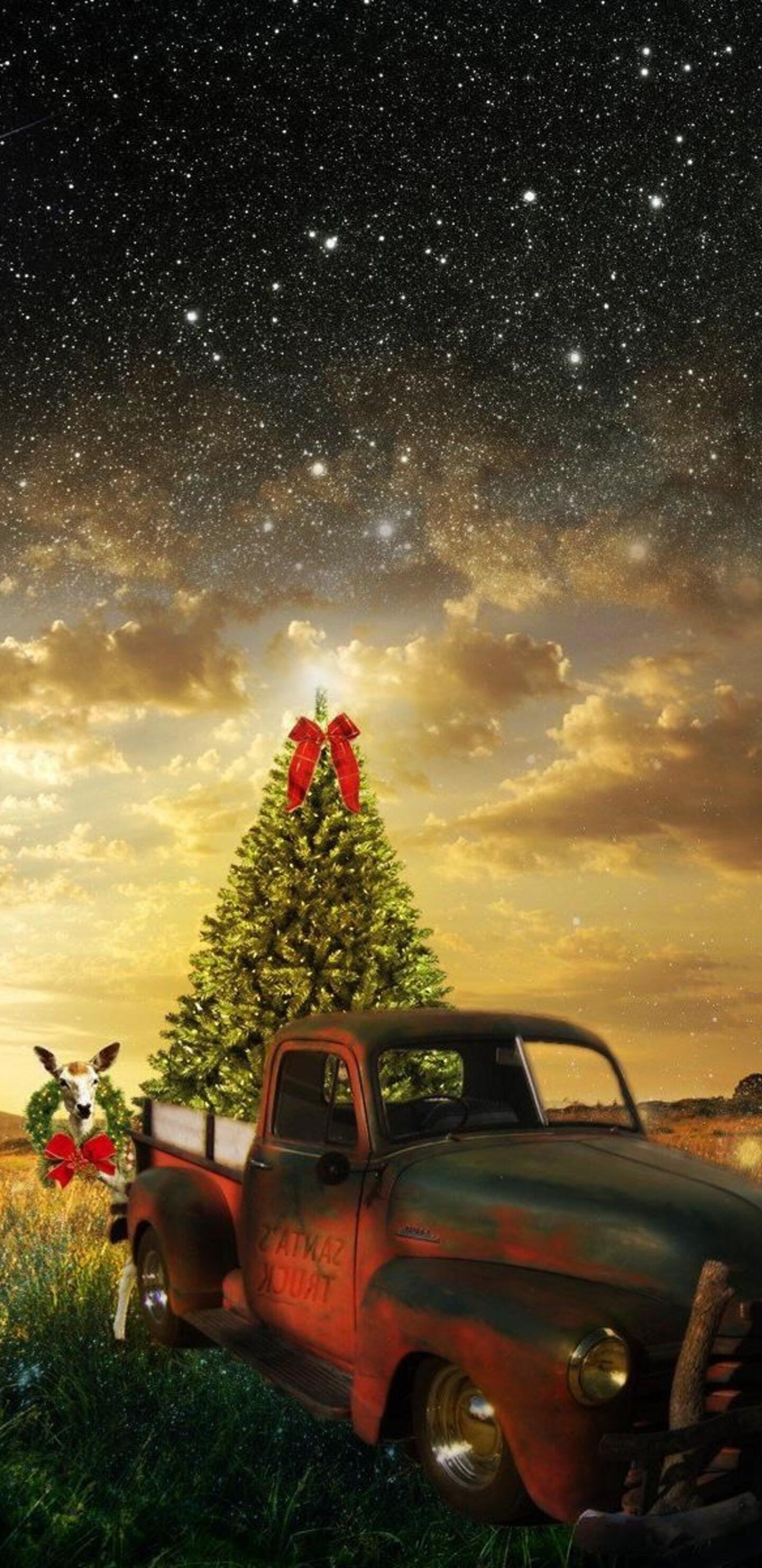 1440x2960 Christmas Magic Samsung Galaxy Note 9 8 S9 S8 S8 Qhd Hd