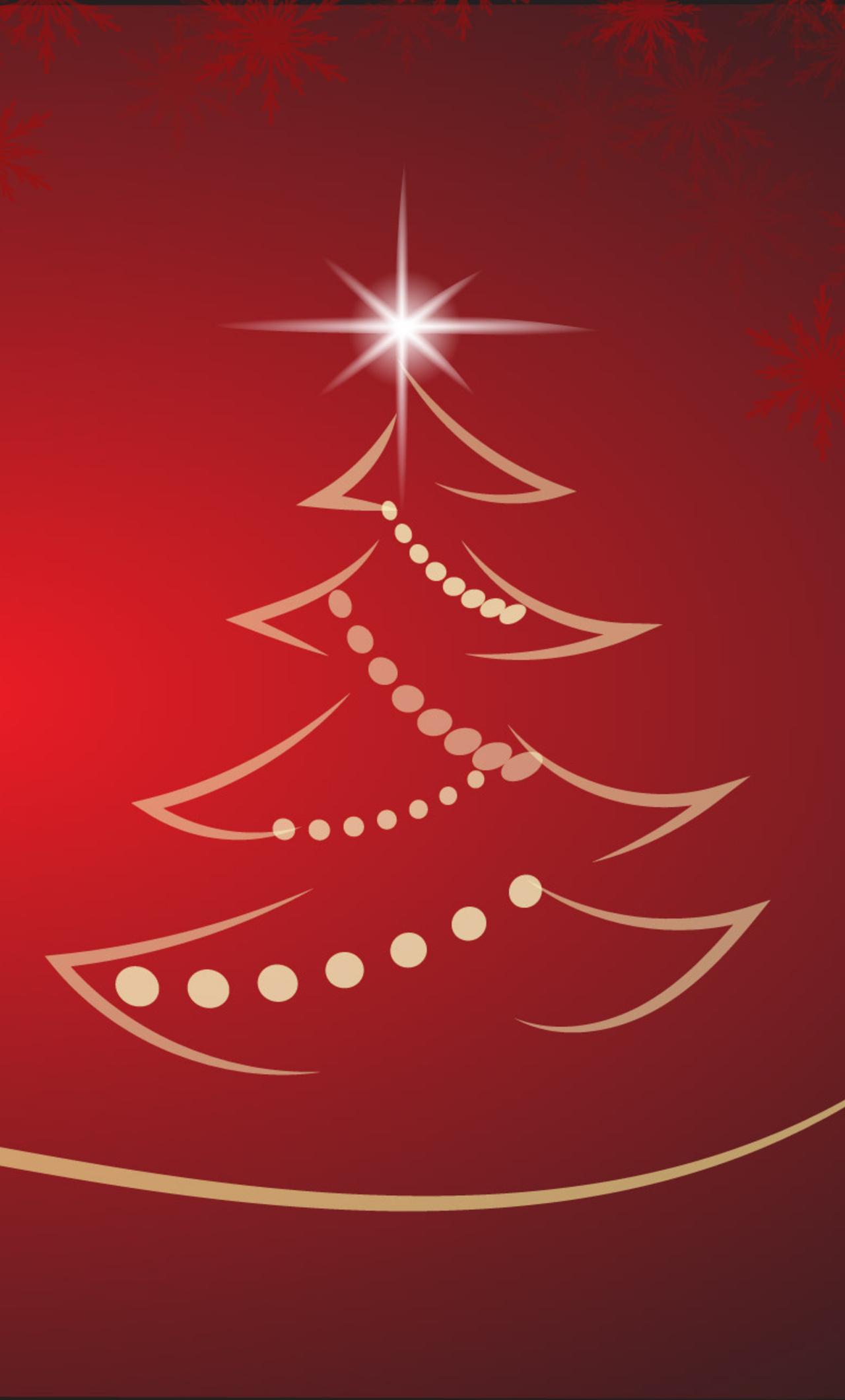 1280x2120 Christmas Tree Background iPhone 6+ HD 4k