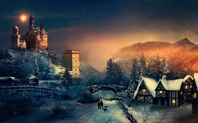 1440x900 Christmas Winter Season 1440x900 Resolution HD 4k ...