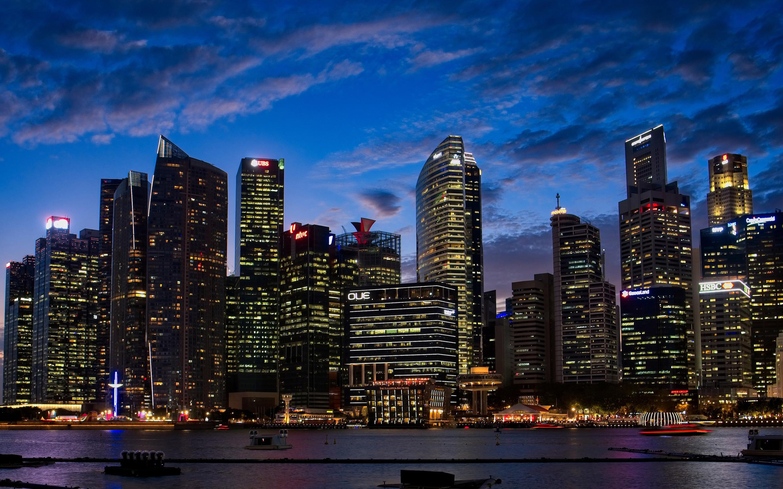 2880x1800 City Lights Buildings 4k Macbook Pro Retina Hd 4k