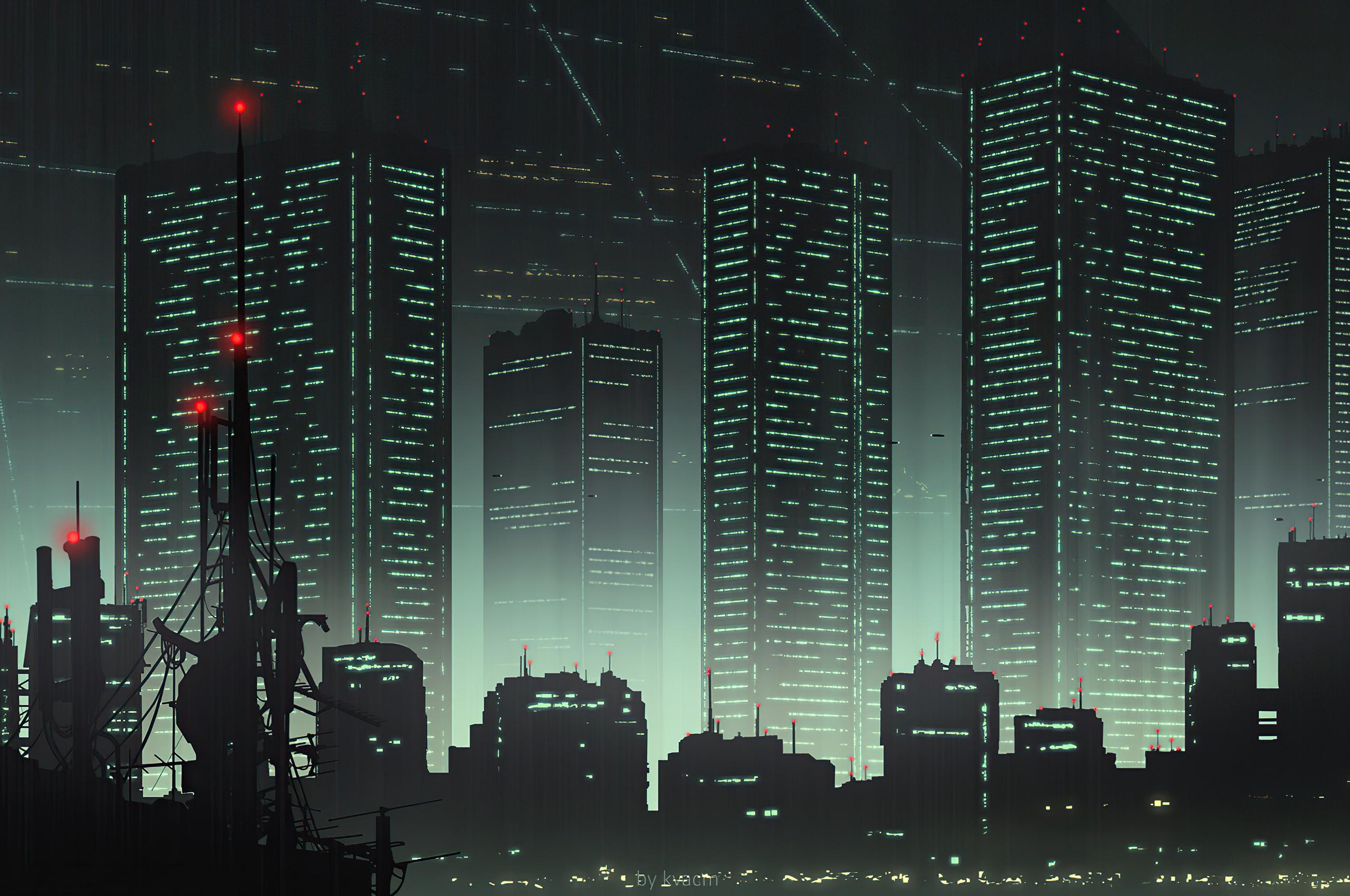 2560x1700 Cityscape 80s Anime 4k Chromebook Pixel HD 4k ...