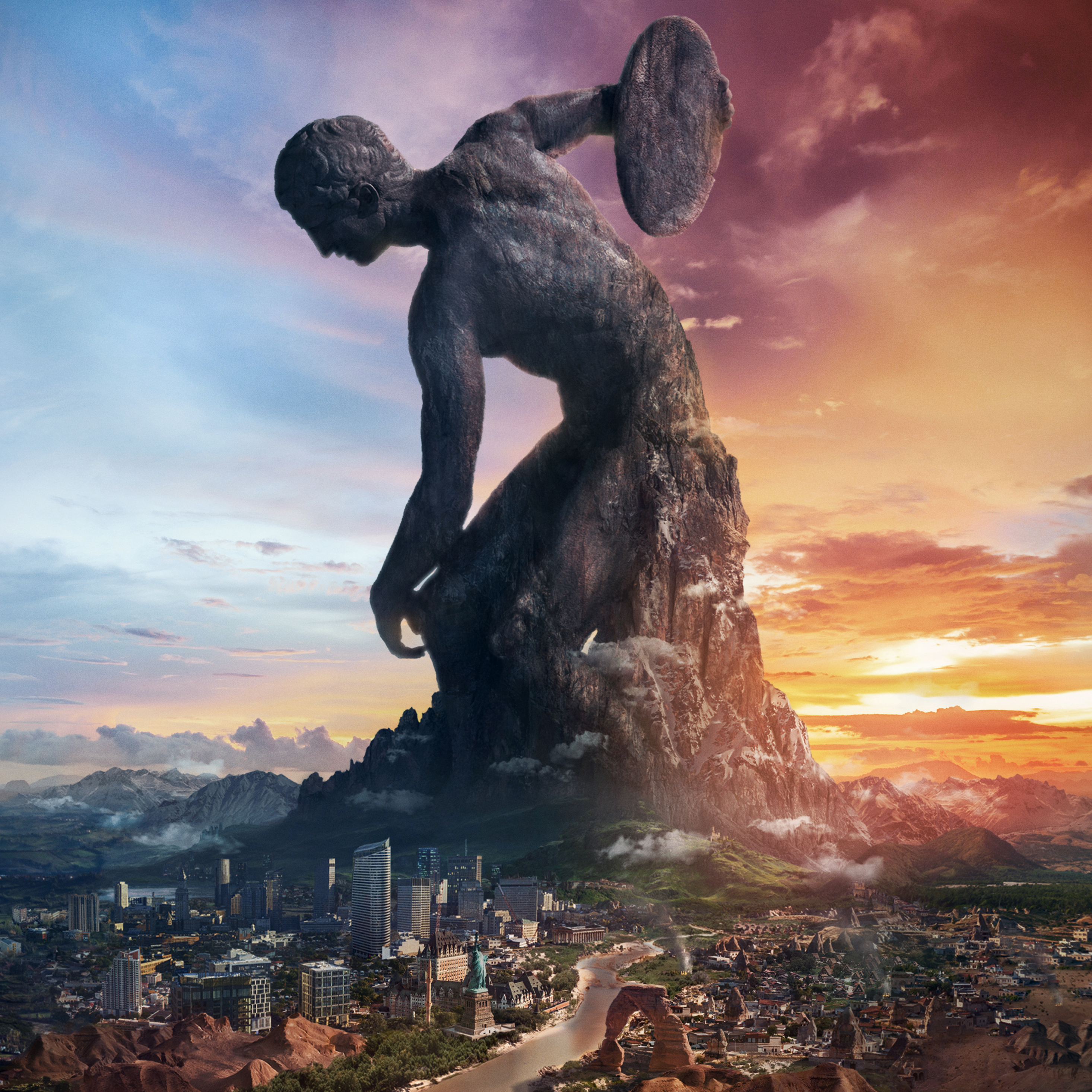 2932x2932 Civilization Vi Rise And Fall Ipad Pro Retina