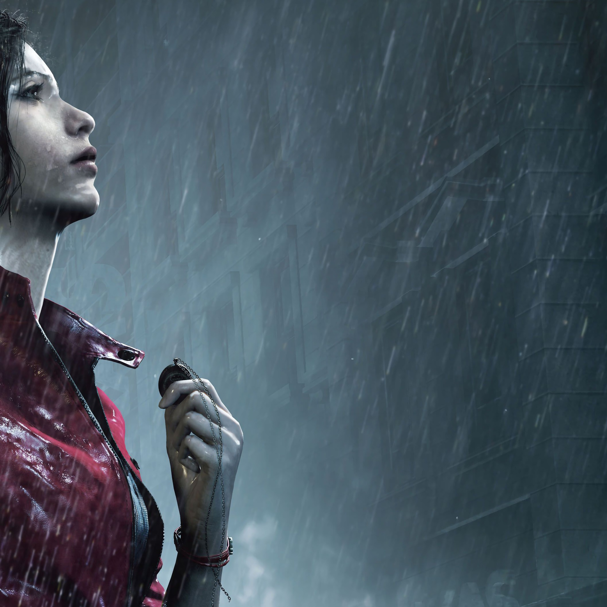 Resident Evil Hd Wallpaper: 2048x2048 Claire Redfield Resident Evil 2 8k Ipad Air HD