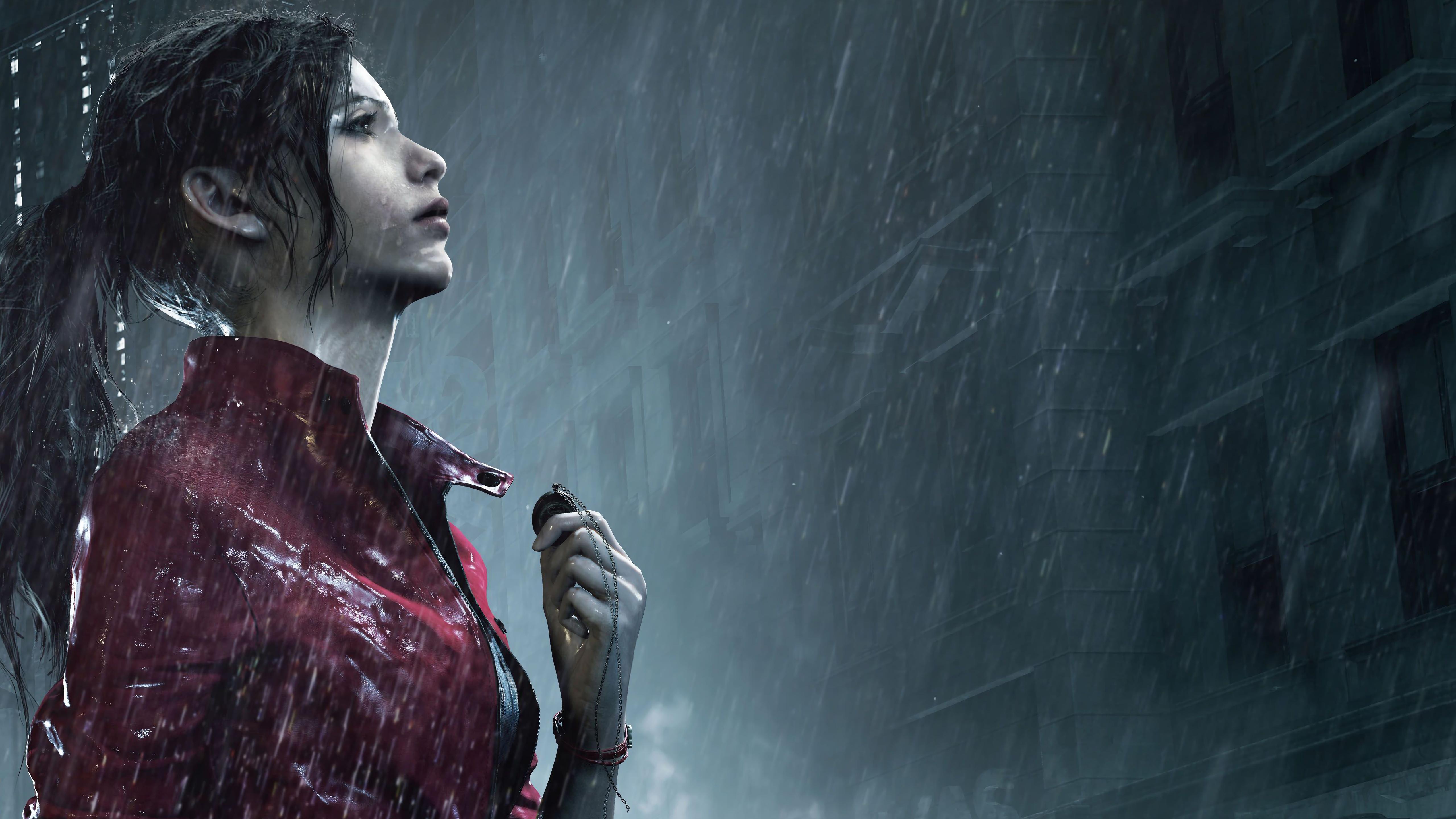 5120x2880 Claire Redfield Resident Evil 2 8k 5k HD 4k