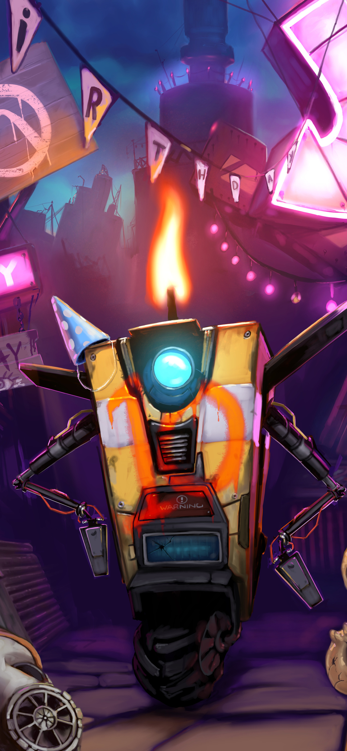 1125x2436 Claptrap Borderlands 3 Iphone Xs Iphone 10 Iphone
