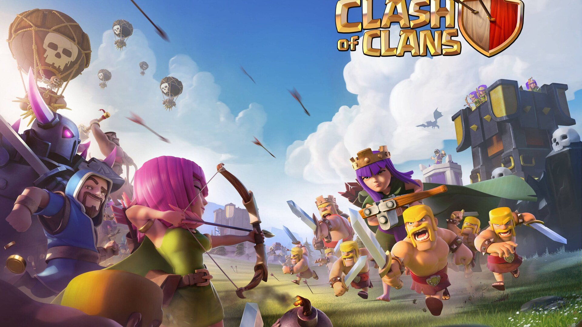 1920x1080 Clash Of Clans 2017 Laptop Full Hd 1080p Hd 4k Wallpapers