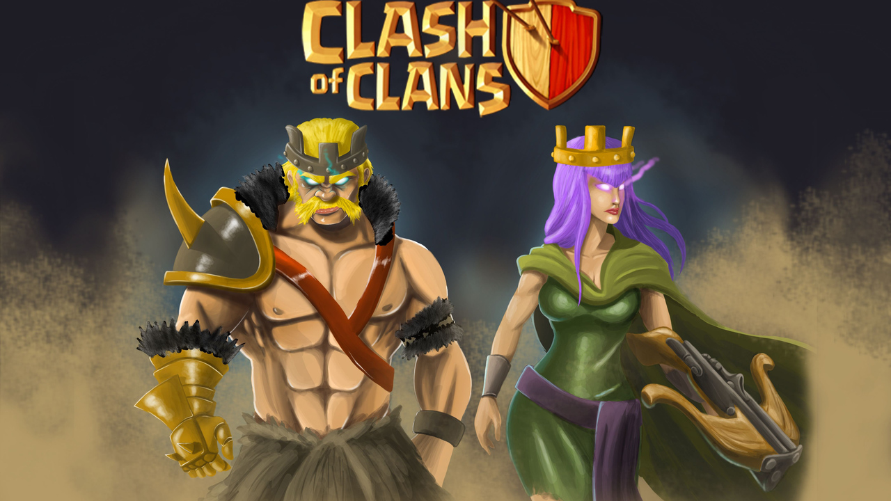 1280x720 Clash Of Clans 4k 720p Hd 4k Wallpapers Images