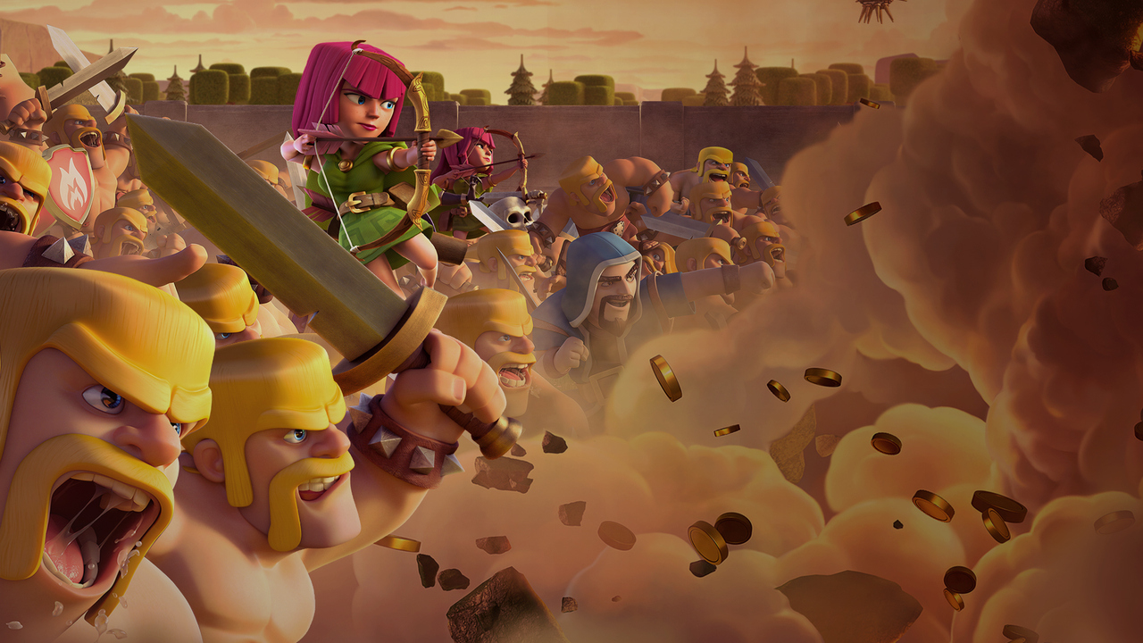 1280x720 Clash Of Clans Clan Wars 720p Hd 4k Wallpapers Images