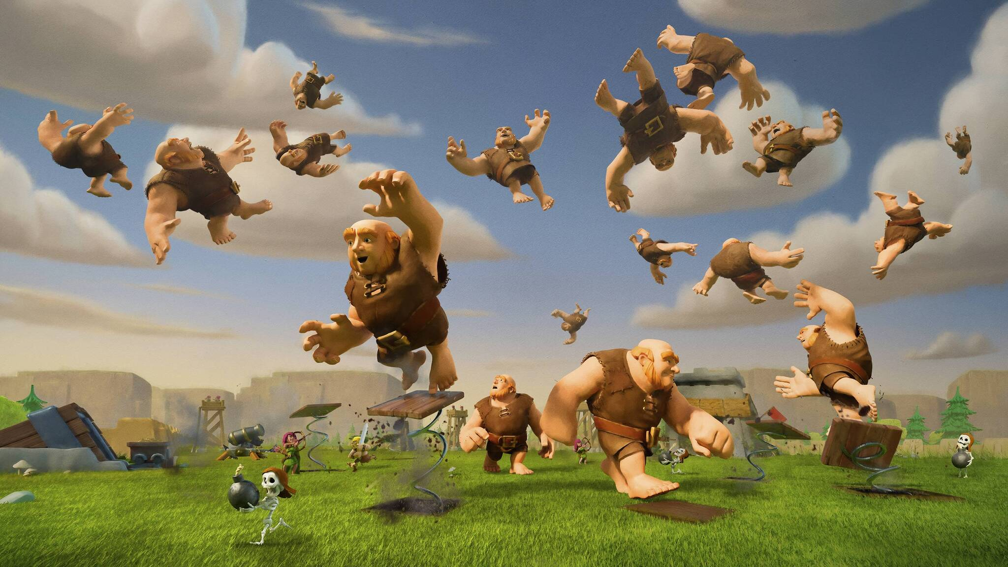 Clash Of Clans Max Level Giants