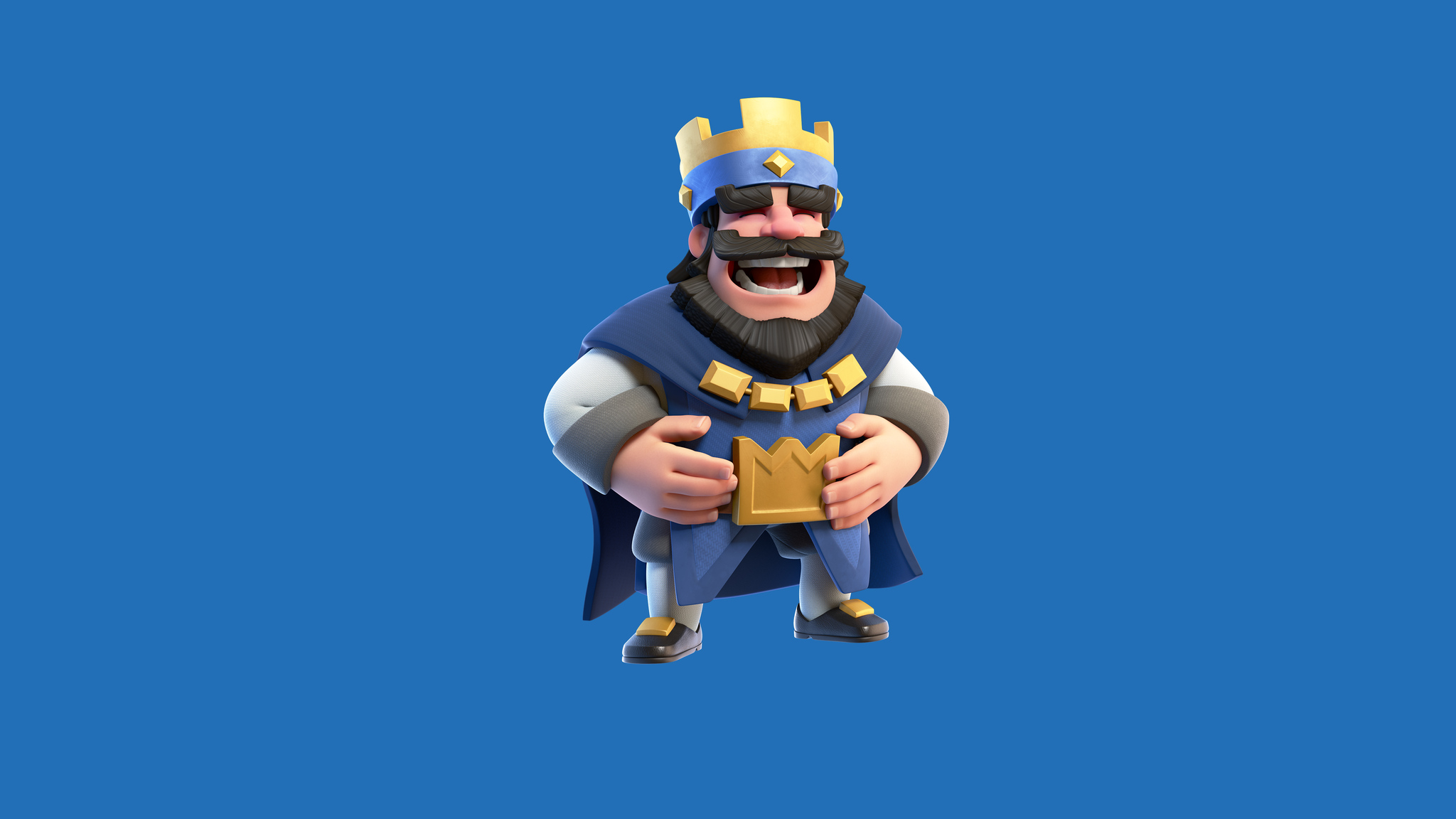 2048 ultra funny animals - 2048x1152 Clash Royale Blue King Hd 4k Wallpapers In