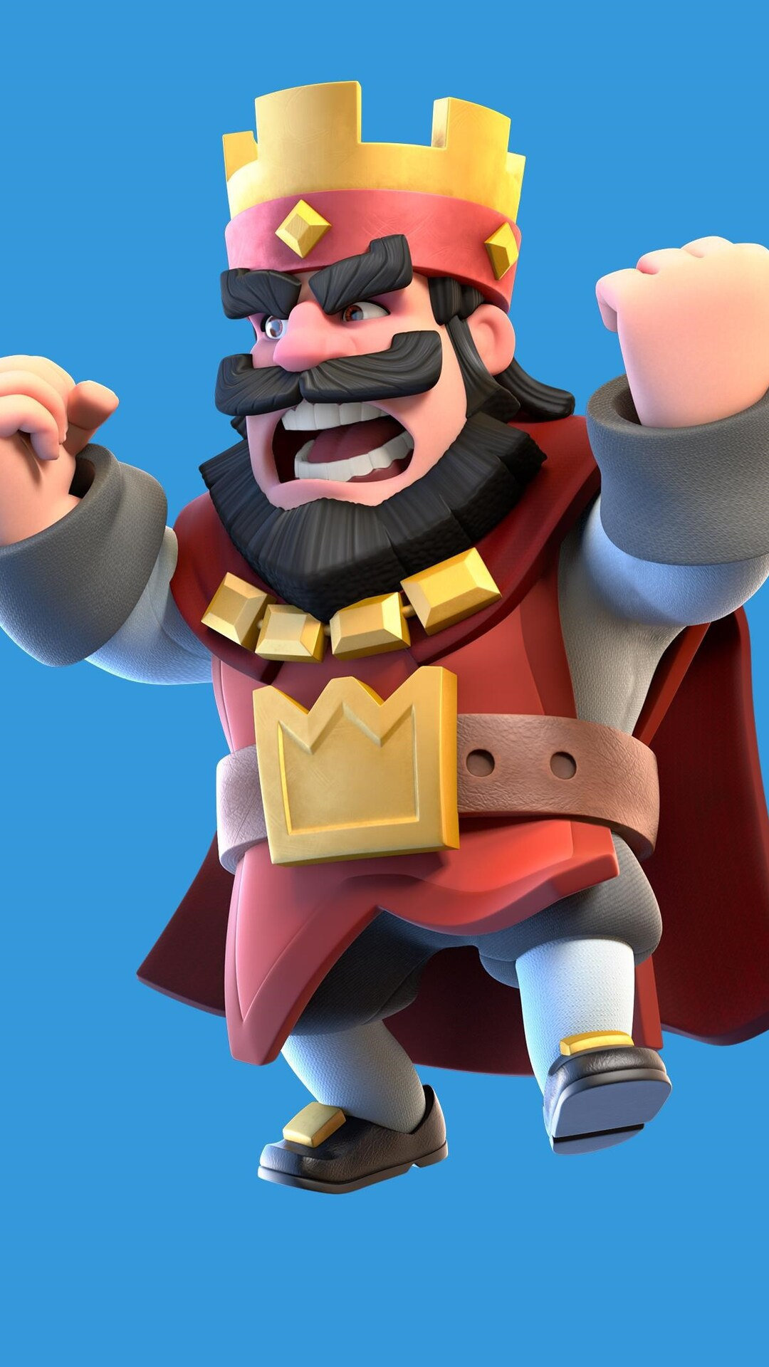 1080x1920 clash royale red king iphone 7 6s 6 plus pixel xl one plus 3 3t 5 hd 4k wallpapers - Clash royale 2560x1440 ...