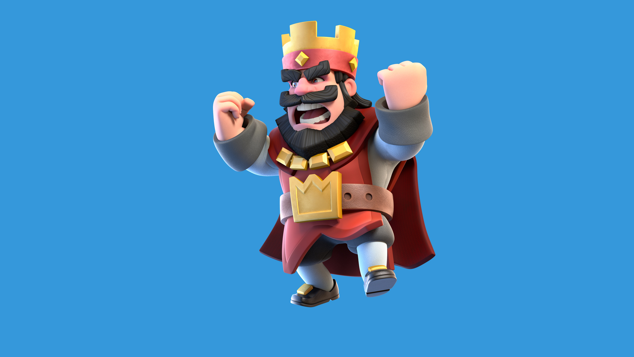 2048x1152 clash royale red king 2048x1152 resolution hd 4k wallpapers images backgrounds - Clash royale 2560x1440 ...