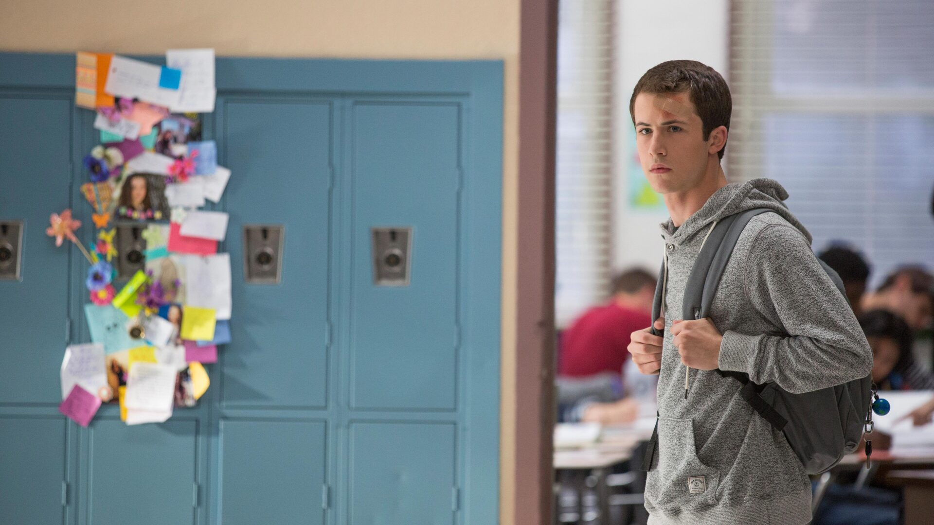 Download clay jensen in 13 reasons why hd 4k wallpapers in 1920x1080 screen resolution - 13 reasons why download ...