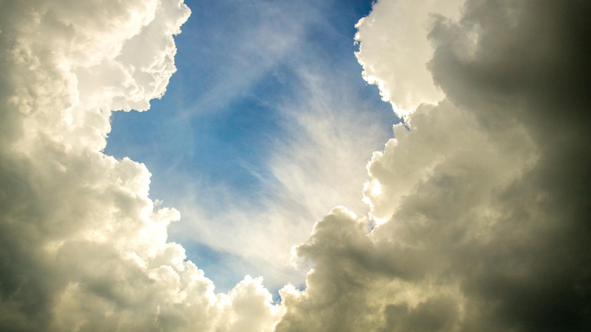 1920x1080 Clean Clouds Sky 4k Laptop Full Hd 1080p Hd 4k