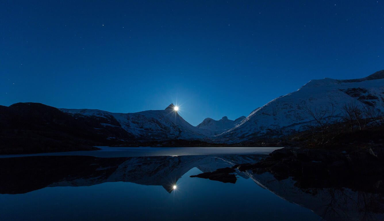 1336x768 Clear Sky Night Landscape 4k Laptop Hd Hd 4k Wallpapers Images Backgrounds Photos And Pictures