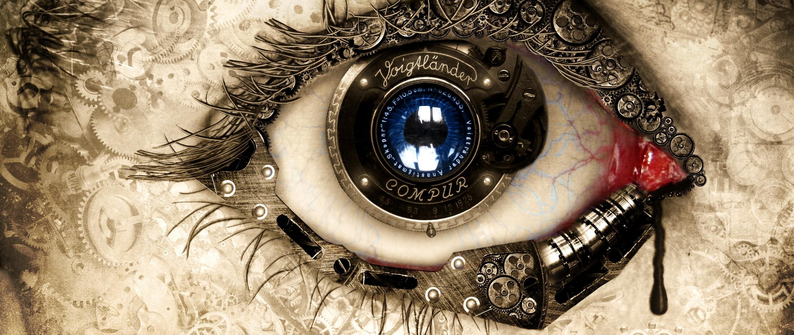 Eye photo manipulation tutorial Glowing Lines Photoshop Tutorial - Photo Extremist