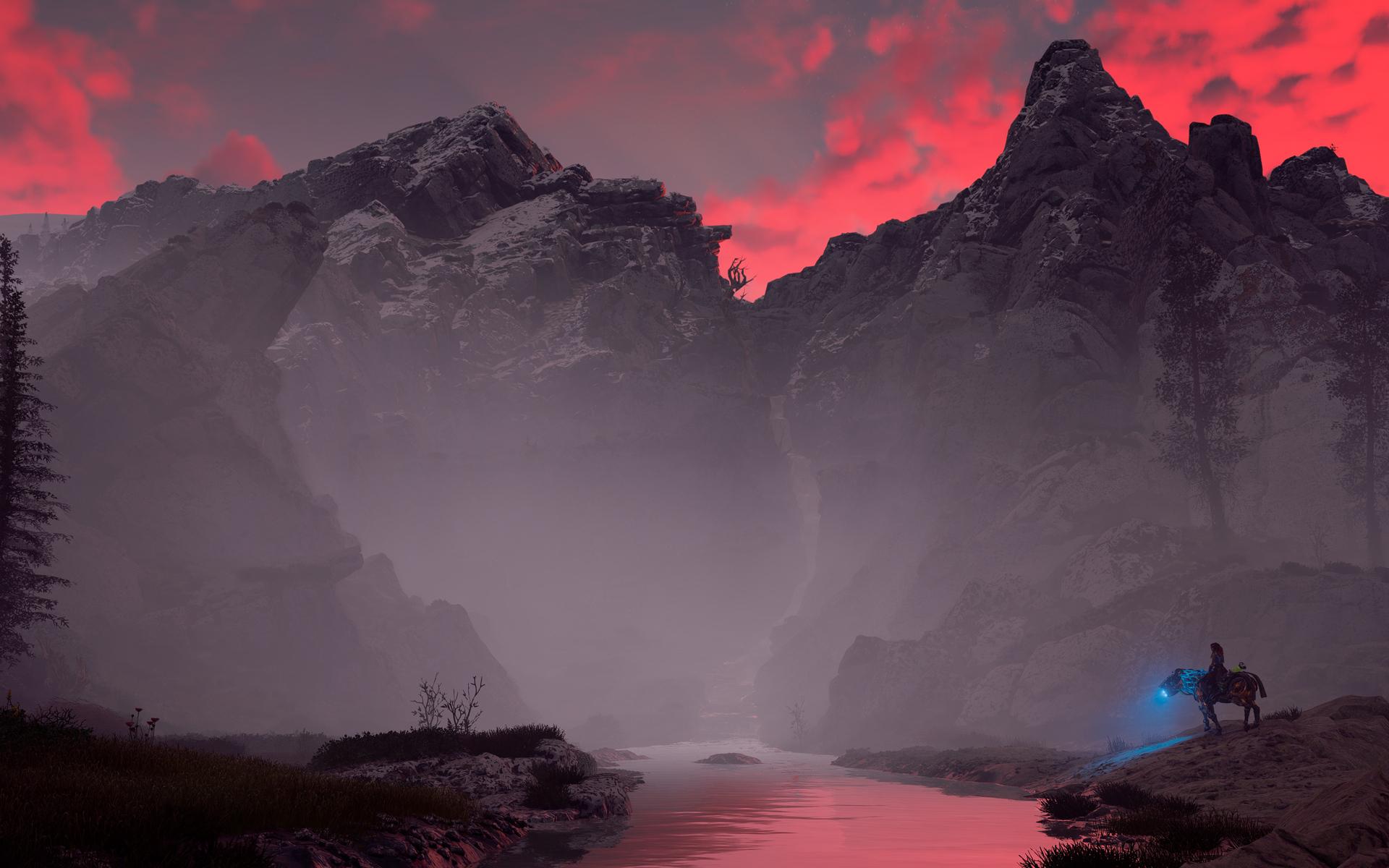 1920x1200 Clouds Of Fire Horizon Zero Dawn 4k 1080P ...