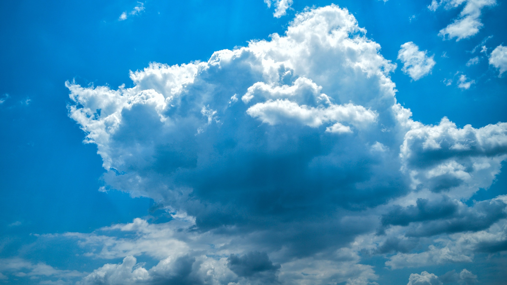 Wallpaper Clouds Blue Sky Hd 5k Nature 3492: 1920x1080 Clouds Summer Weather 5k Laptop Full HD 1080P HD