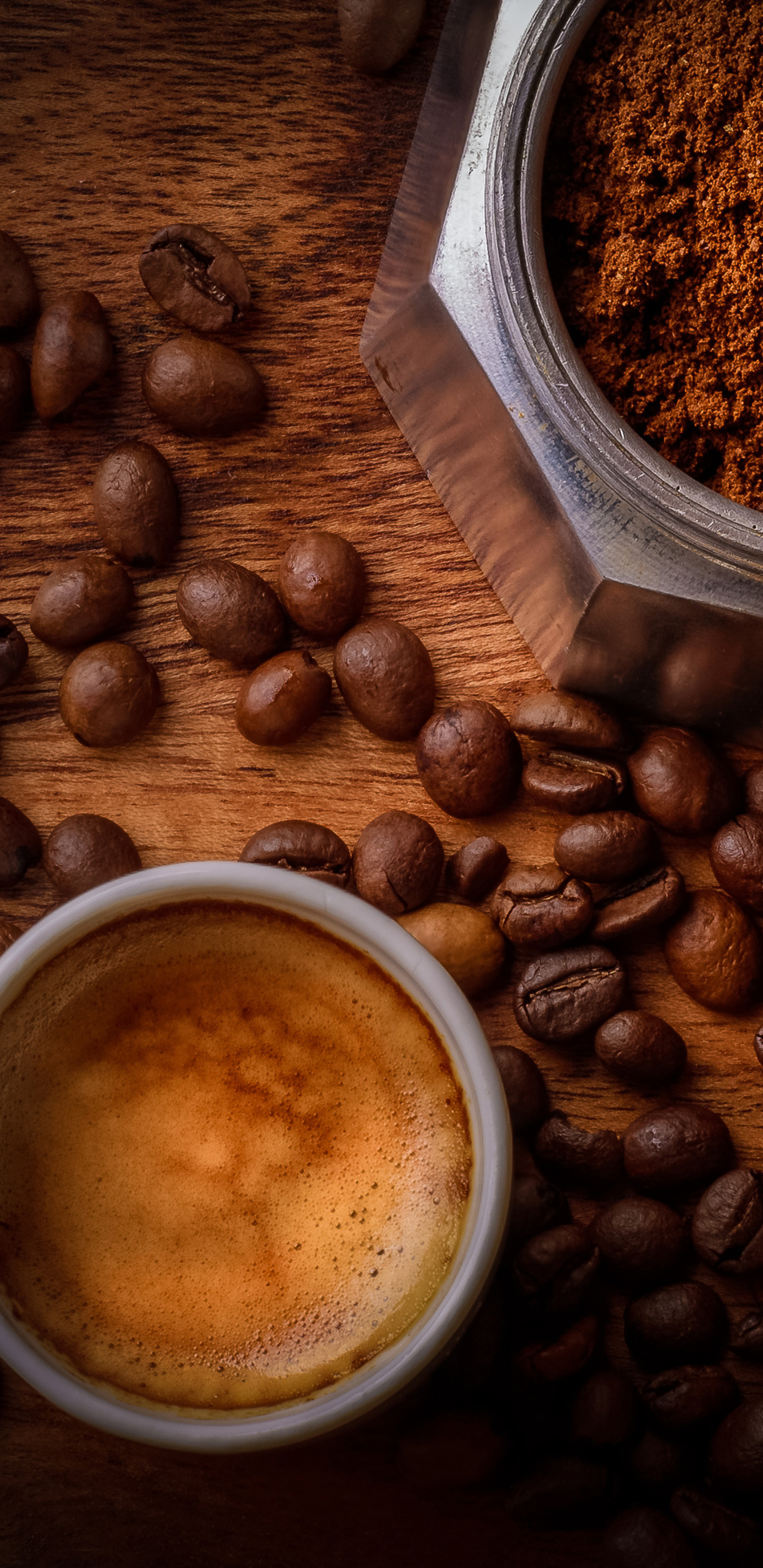 1440x2960 Coffee Beside Coffee Beans Samsung Galaxy Note 9 8 S9 S8 S8 Qhd Hd 4k Wallpapers Images Backgrounds Photos And Pictures