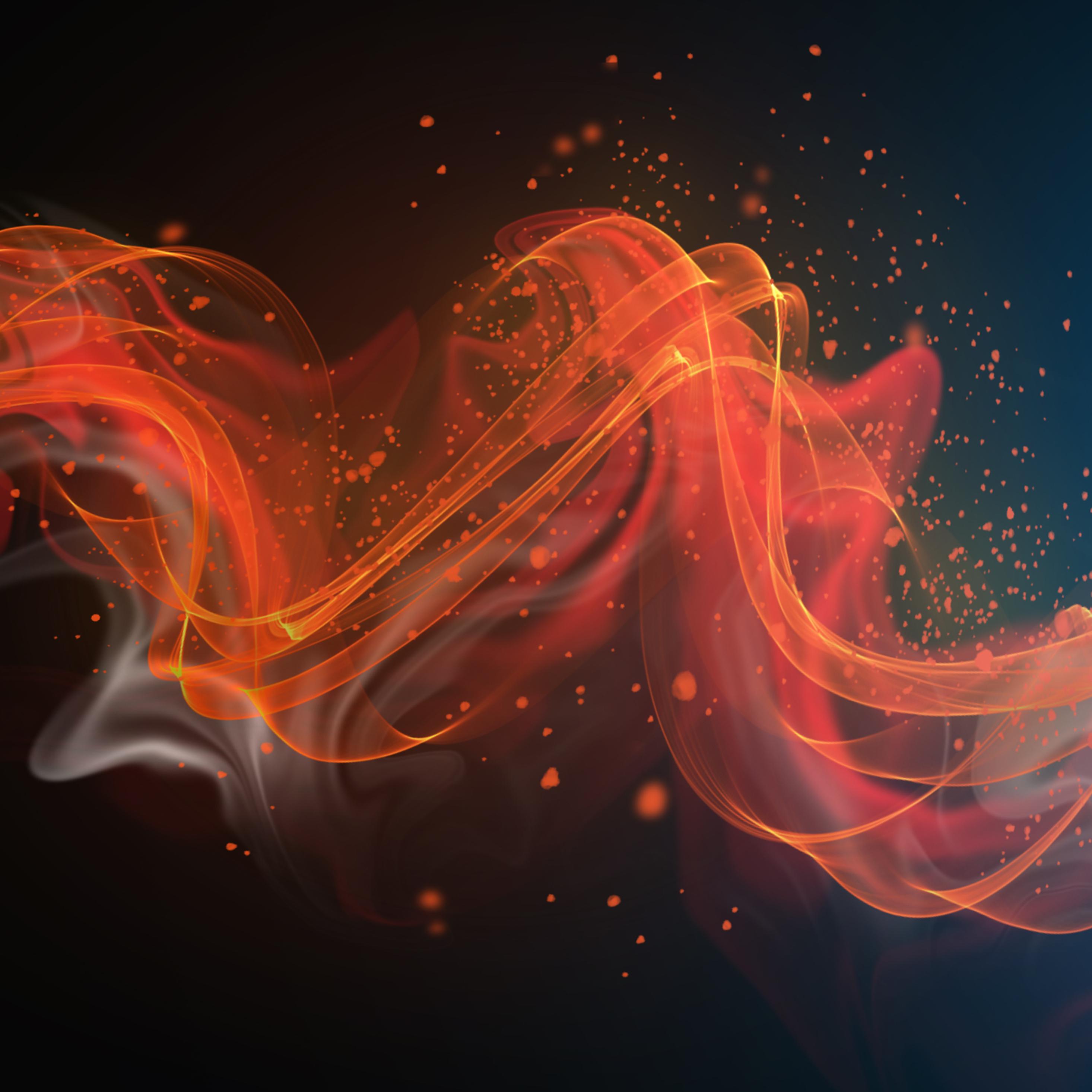2932x2932 Color Wave Abstract 4k Ipad Pro Retina Display