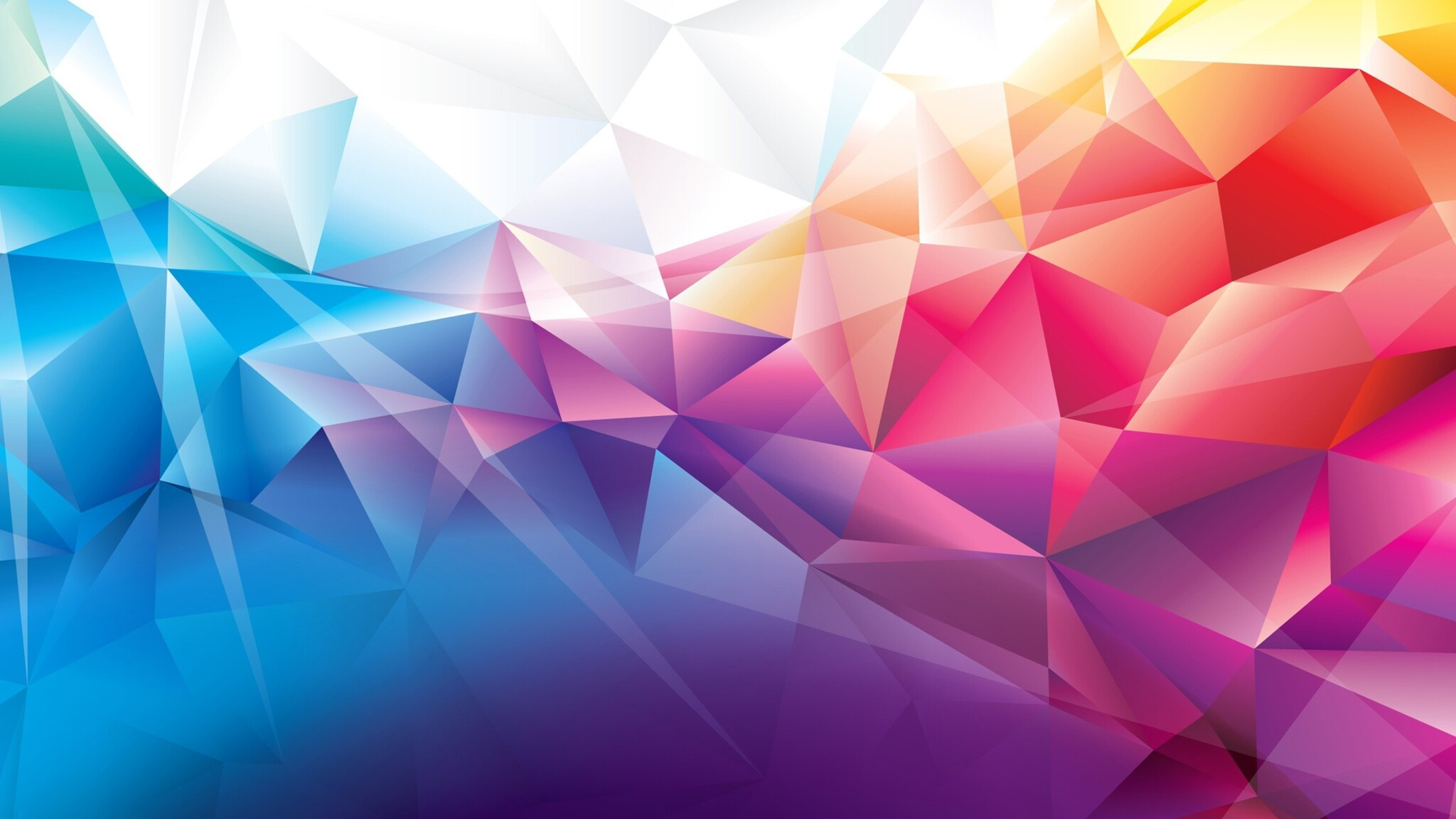 Purple Polygonal Abstract Background: 2048x1152 Colorful Polygons 2048x1152 Resolution HD 4k