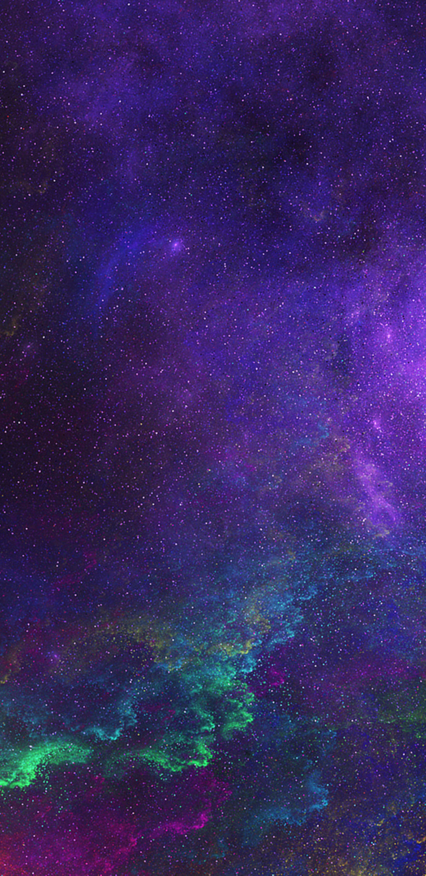 1440x2960 Colorful Space Samsung Galaxy Note 9,8, S9,S8,S8