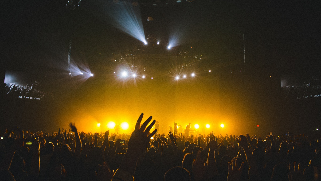 Good Wallpaper Music Party - concert-show-crowd-peoples-music-party-5k-vo-1366x768  HD_83641.jpg