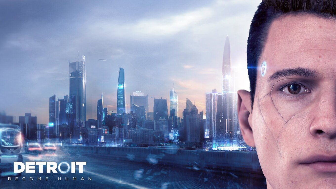 1360x768 Connor Detroit Become Human Laptop Hd Hd 4k Wallpapers