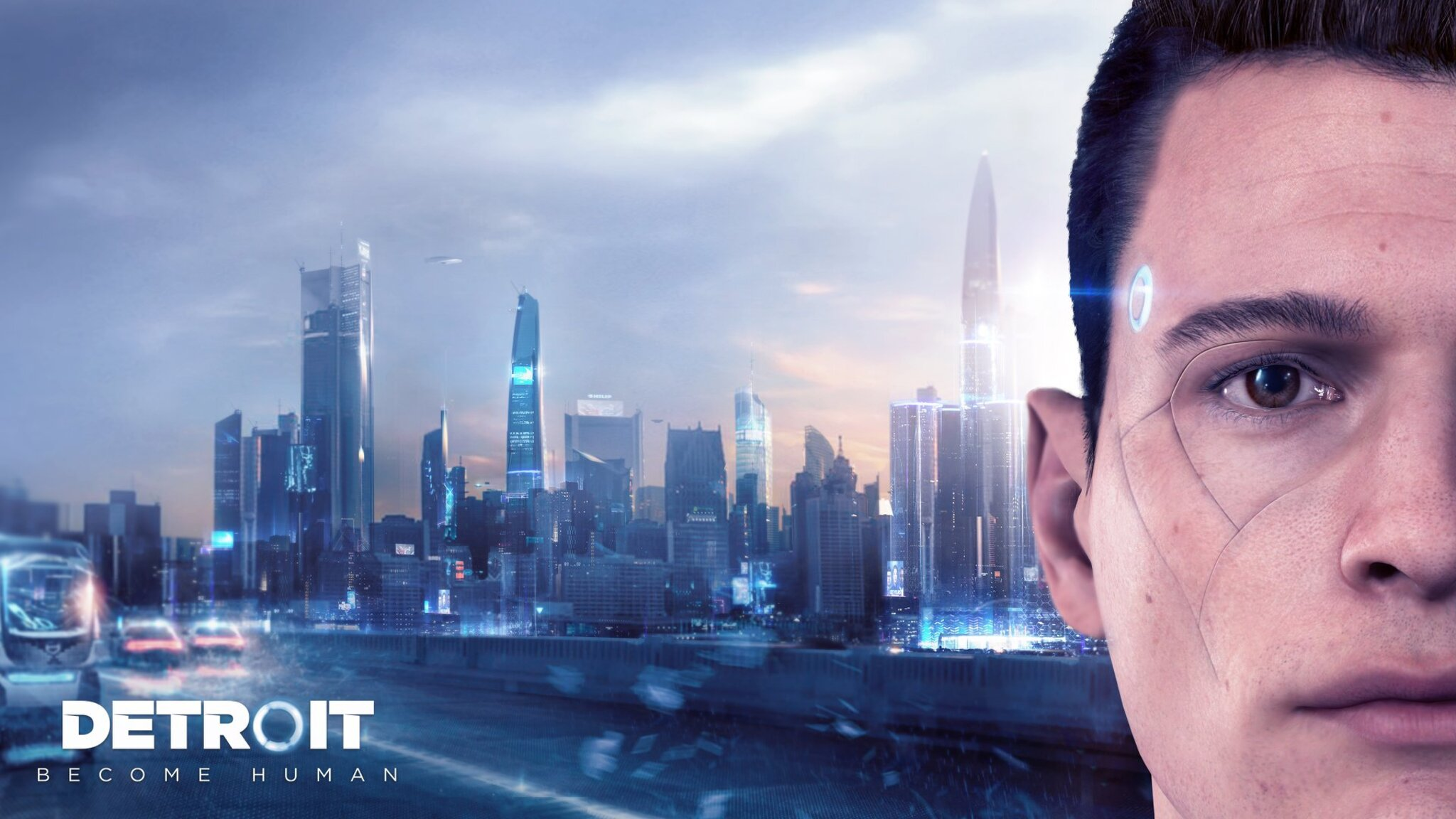 Detroit Become Human Connor Wallpaper: 2048x1152 Connor Detroit Become Human 2048x1152 Resolution