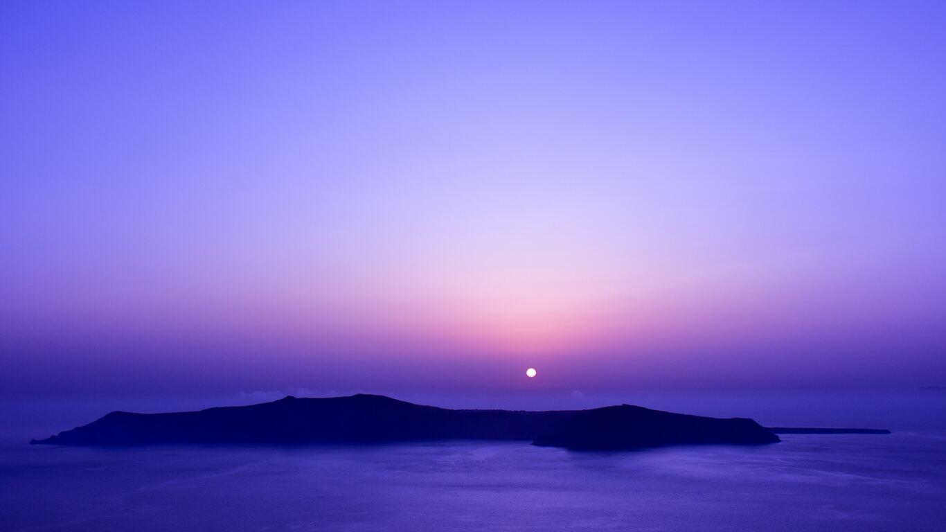 1366x768 cool blue temperature sunset 1366x768 resolution hd 4k