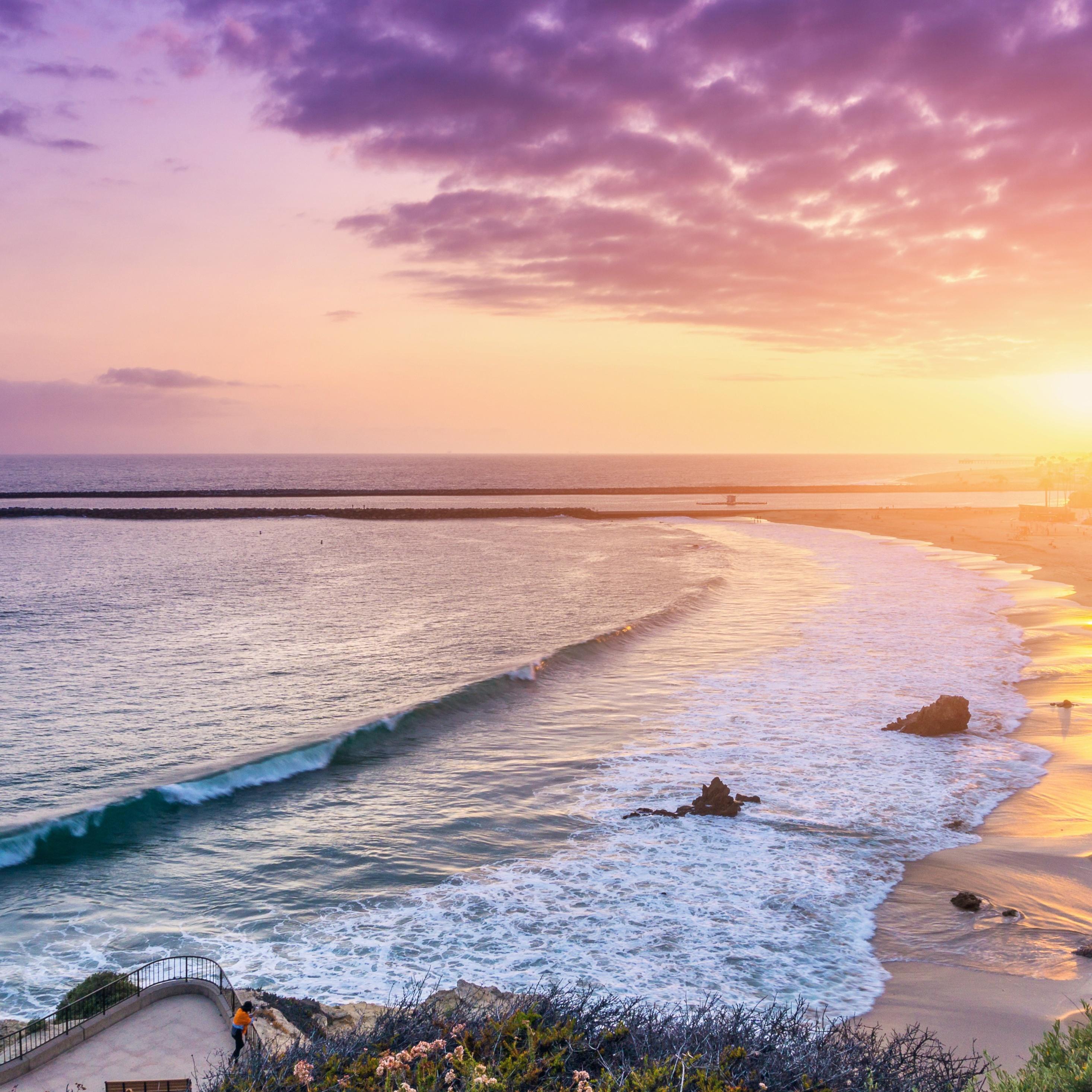 2932x2932 Corona Del Mar Newport Beach 5k Ipad Pro Retina