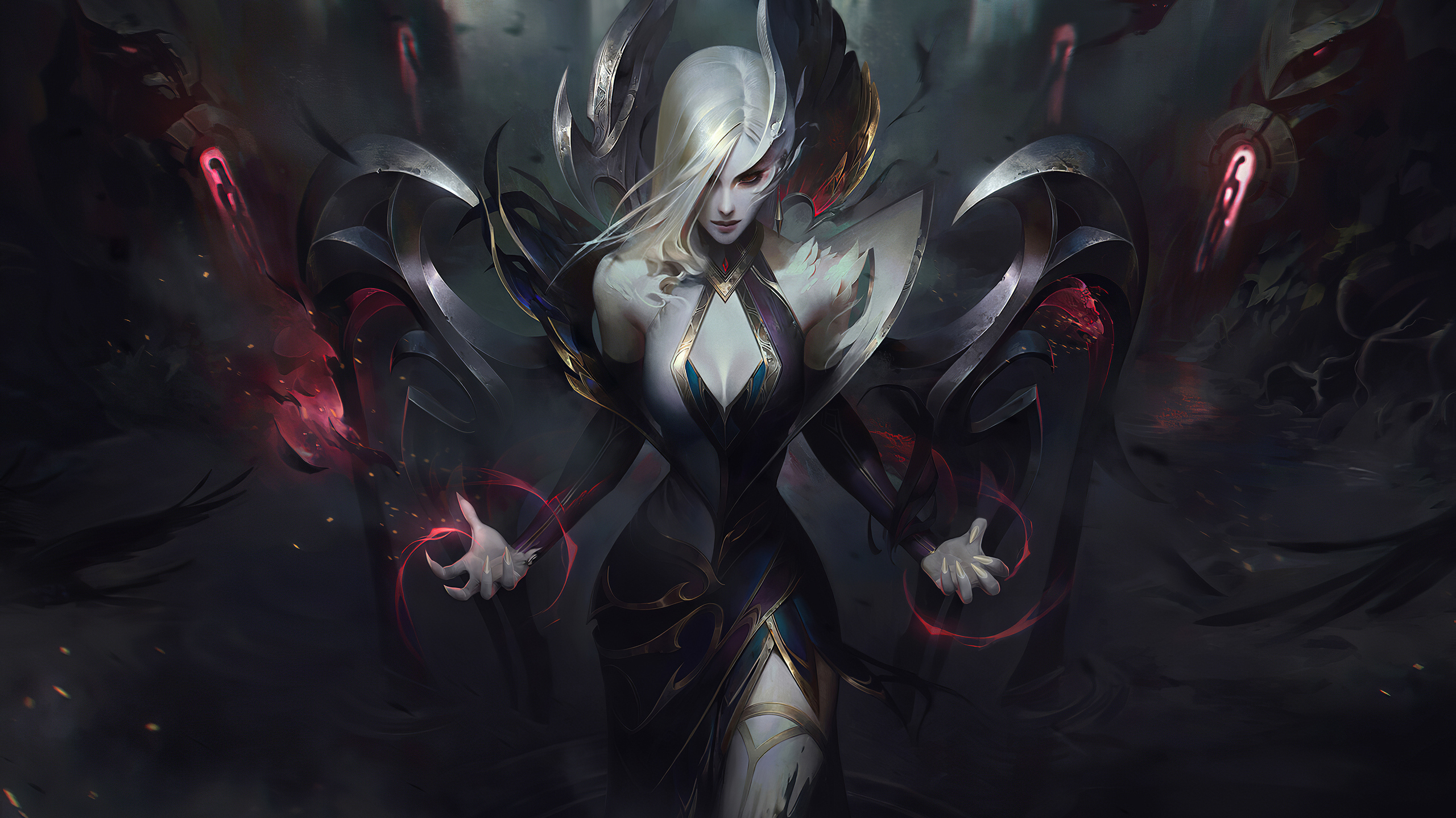 2560x1440 Coven Morgana League Of Legends 4k 1440p Resolution Hd 4k Wallpapers Images Backgrounds Photos And Pictures