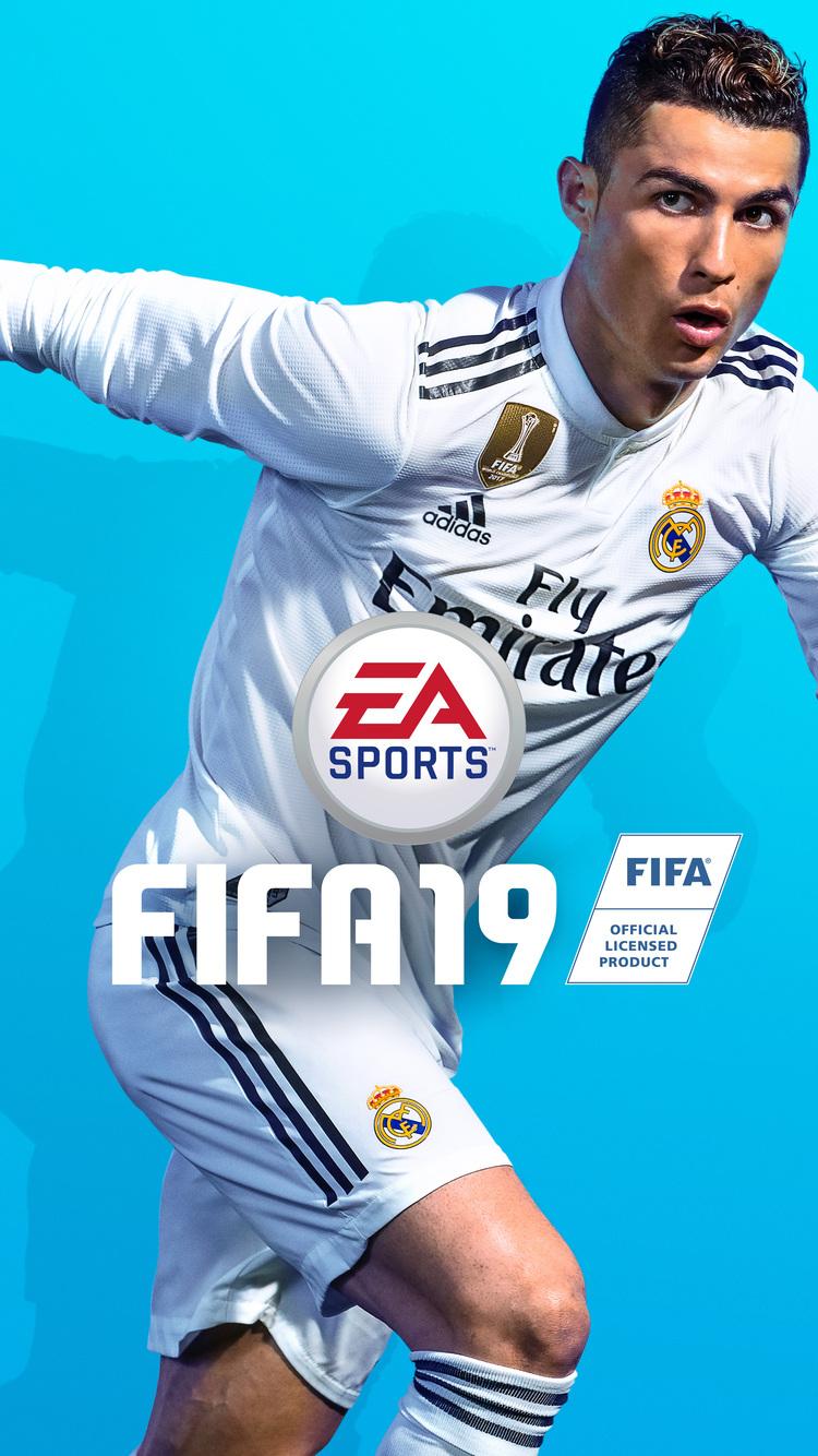 750x1334 Cristiano Ronaldo Fifa 19 8k Iphone 6 Iphone 6s