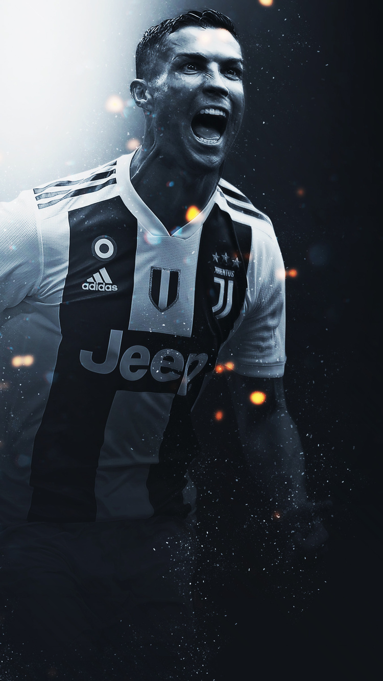 750x1334 Cristiano Ronaldo Juventus Fc Iphone 6 Iphone 6s