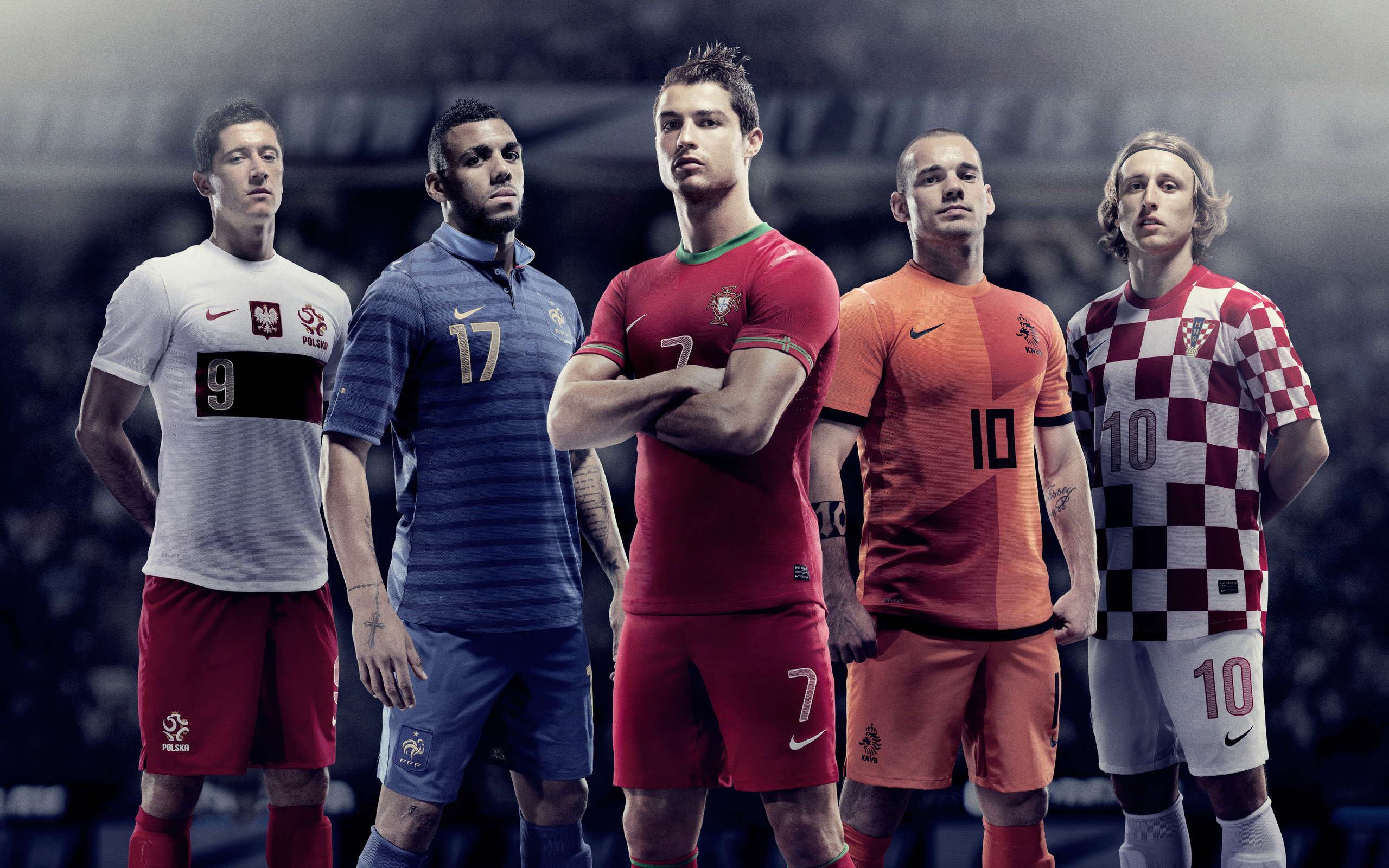 2560x1600 Cristiano Ronaldo Nike Players 5k 2560x1600 Resolution Hd