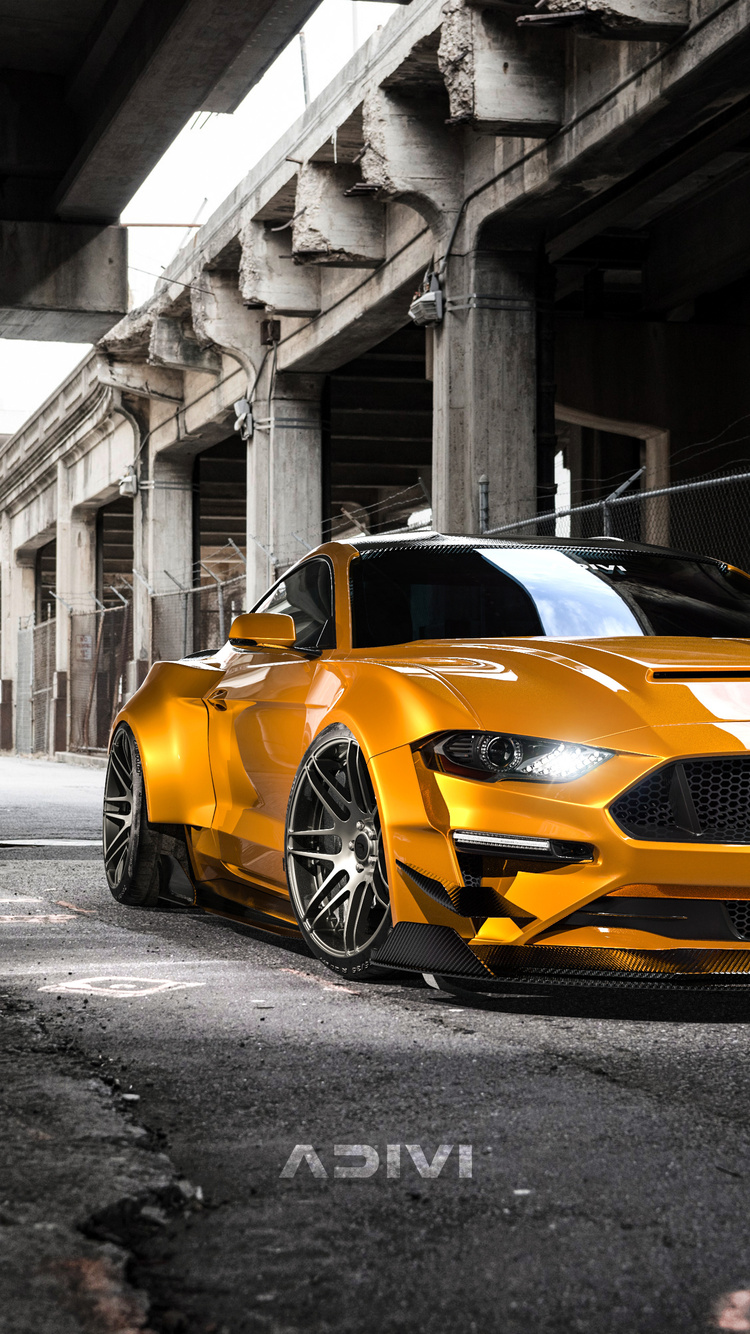 750x1334 Custom Ford Mustang 4k iPhone 6, iPhone 6S ...