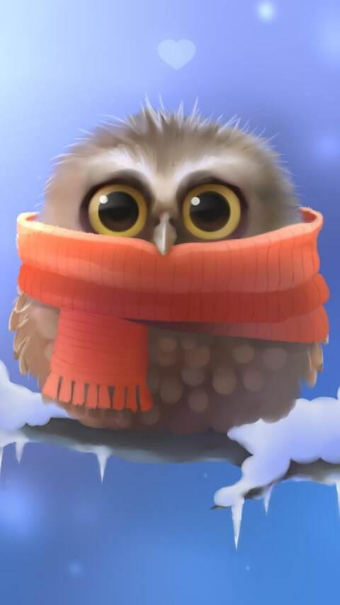 480x854 Cute Owl Android One Hd 4k Wallpapers Images