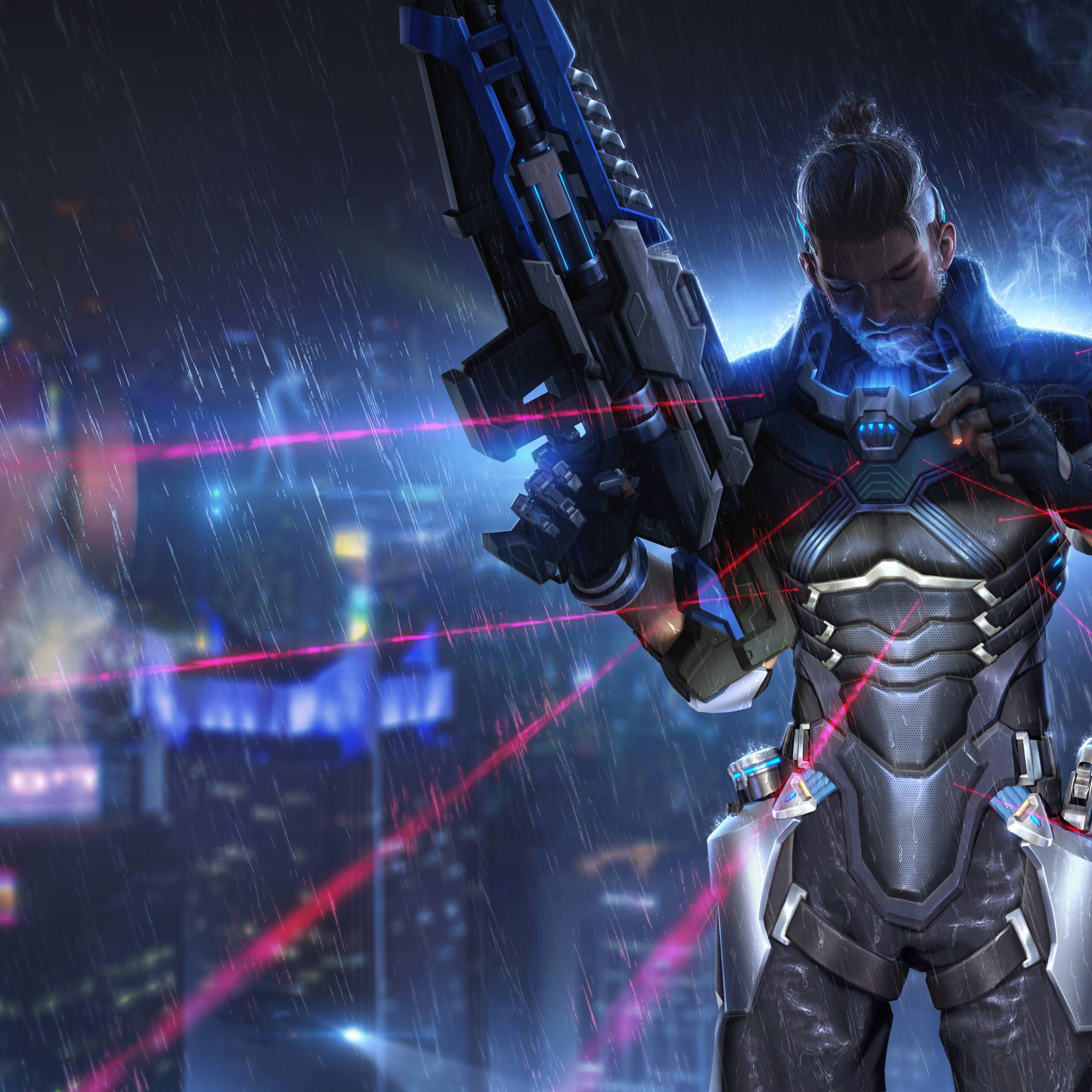 cyber hunter_2932x2932 Cyber Hunter Ipad Pro Retina Display HD 4k Wallpapers, Images, Backgrounds ...