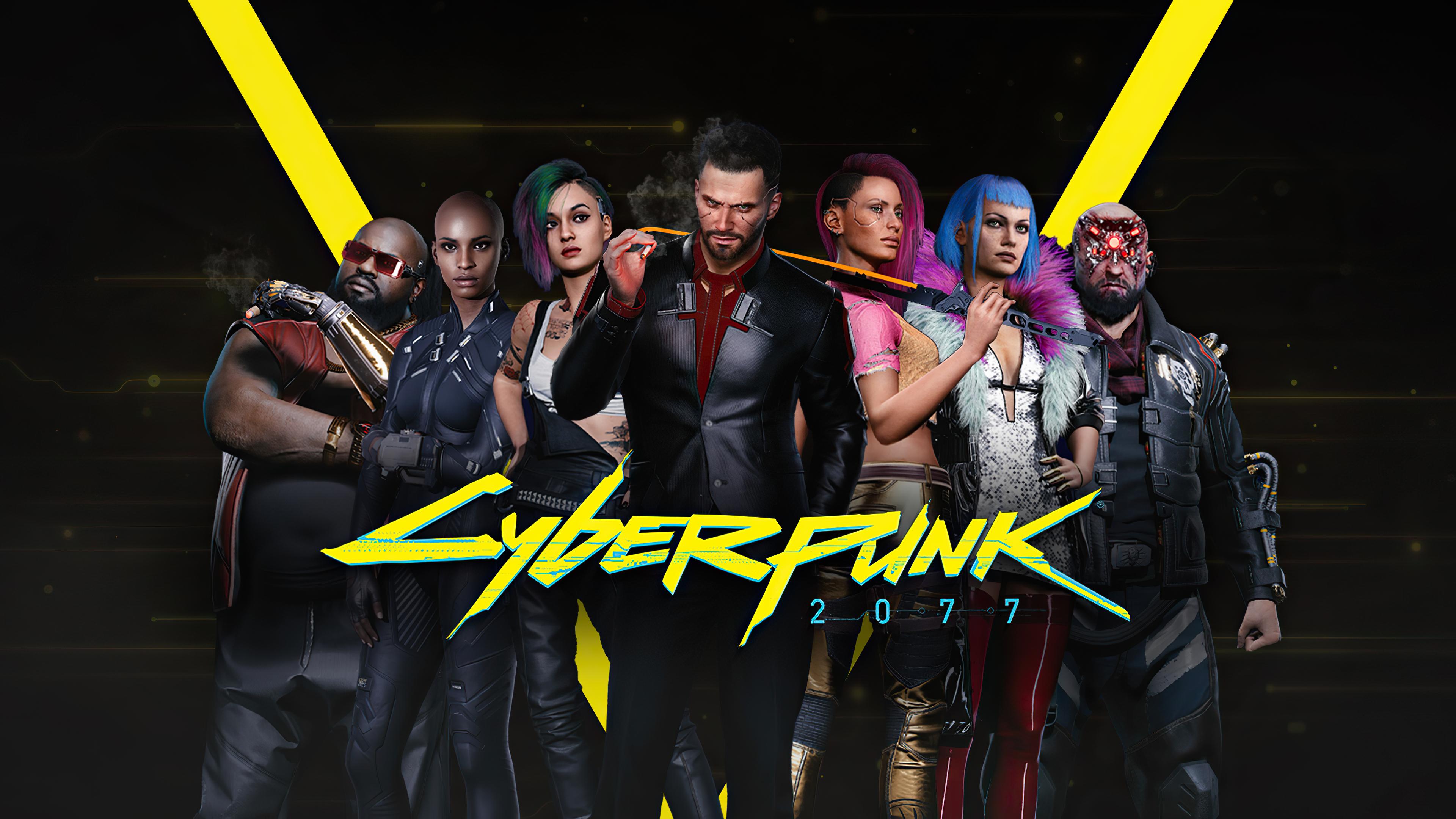 3840x2160 Cyberpunk 2077 4k Characters 4k HD 4k Wallpapers ...